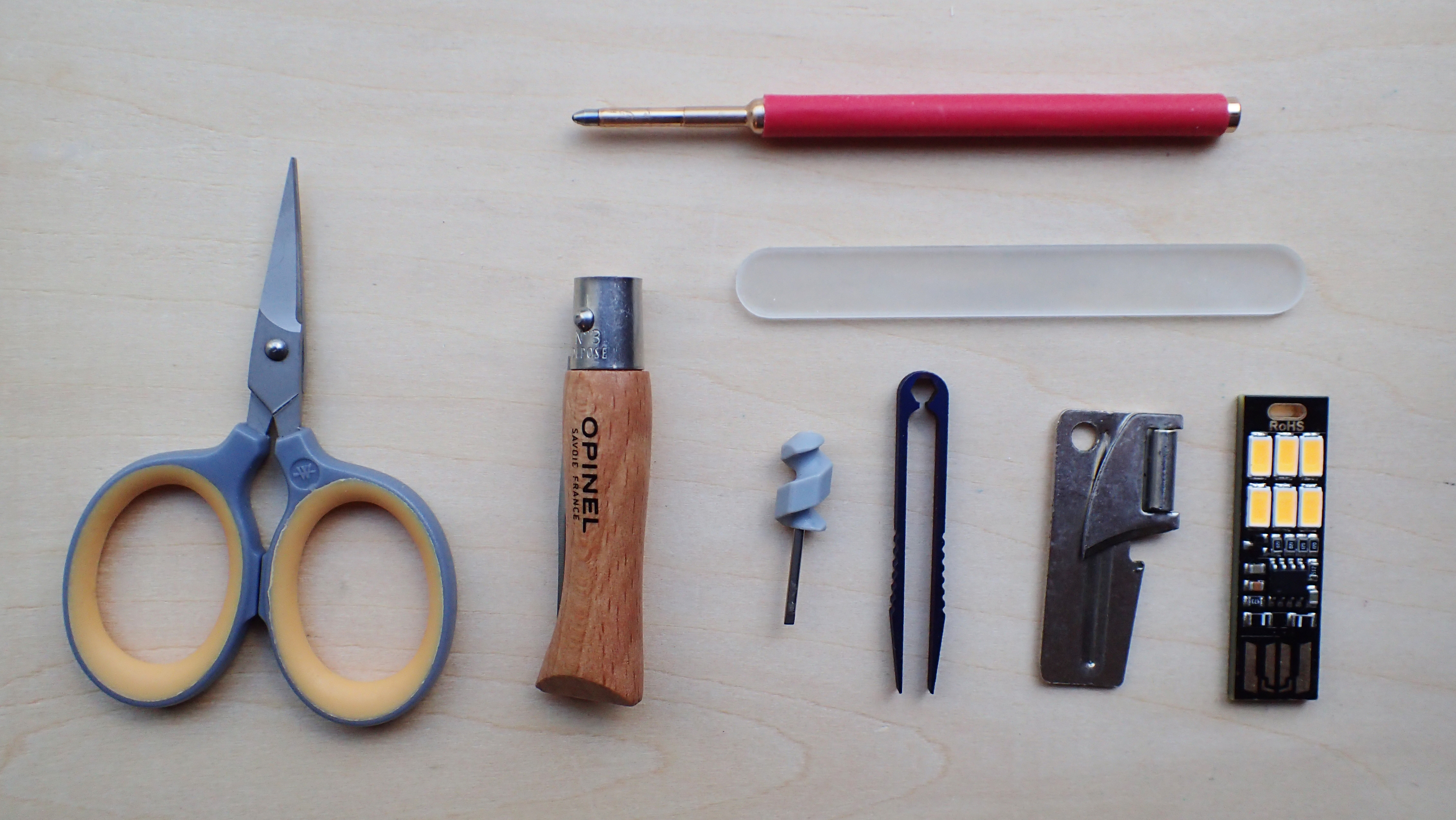 A better, if slightly heavier, selection of lightweight tools