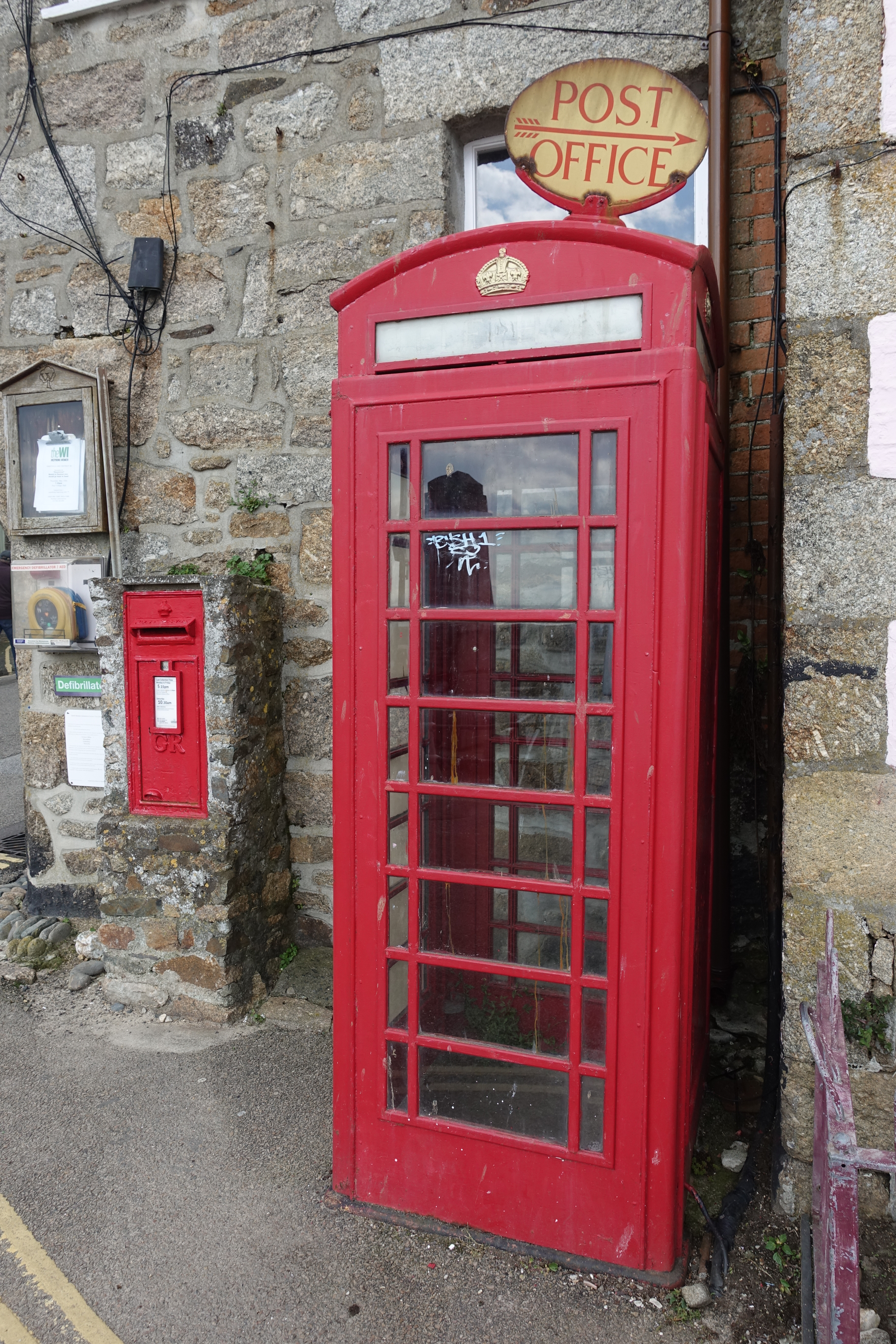 K6 at Mousehole, Cornwall. SWCP
