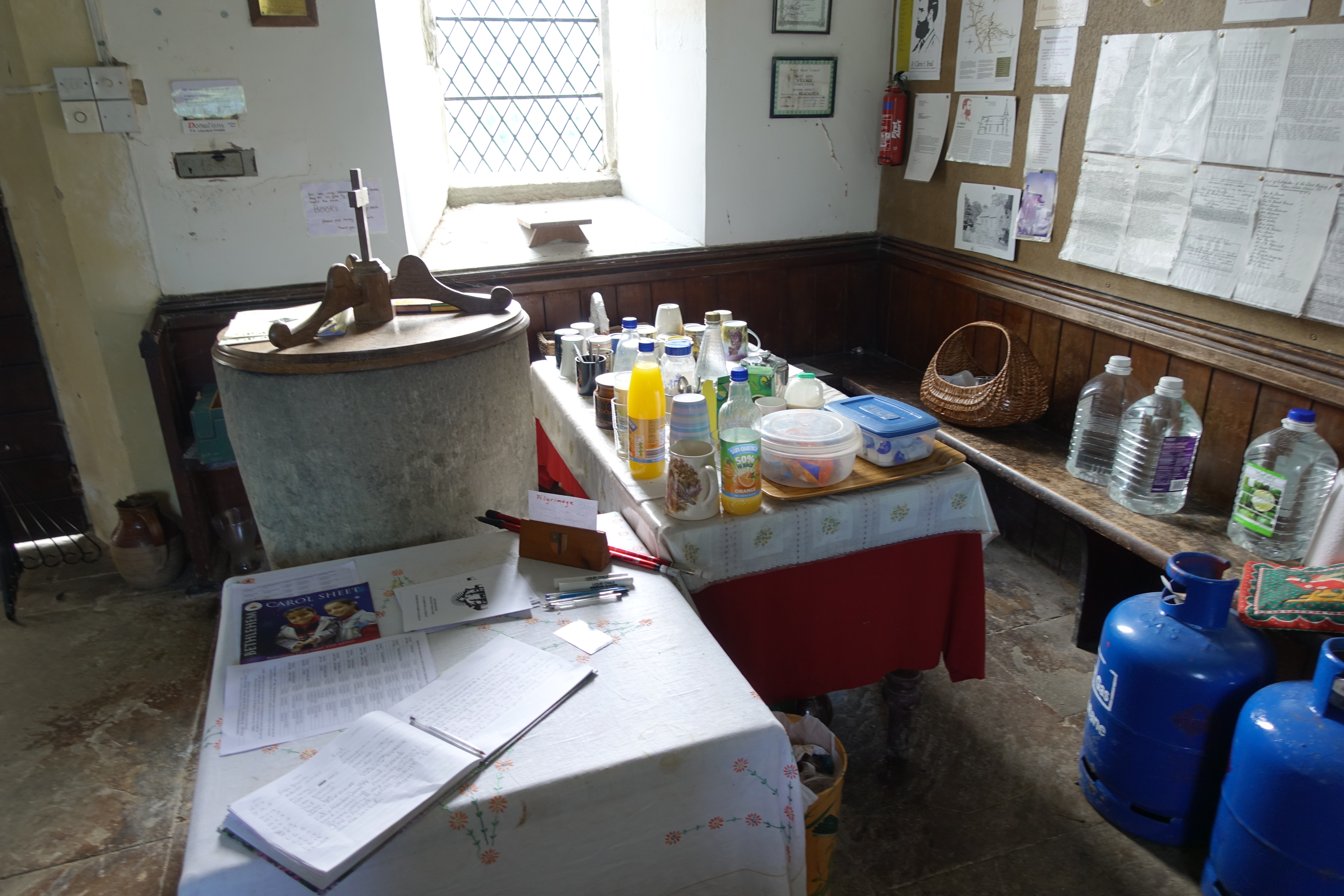 One oft over-looked resource on trail are churches. St. Marys, Newchurch