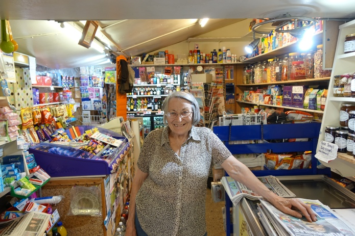 May has been providing provisions for the local community and Pennine Way hikers for half a century. I stocked up with a couple of days supply, had a decent lunch, two mugs of tea, refilled water bottles with ice cold water from her homes hill side spring and enjoyed an hours chat with the locals