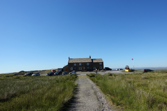 The Tan Hill Inn is a 'must stop' location on the Pennine Way. If possible, stay overnight