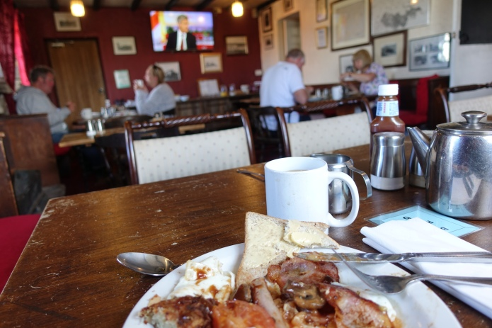 A Full English at the Tan Hill Inn prepares the hiker for a day crossing the moors