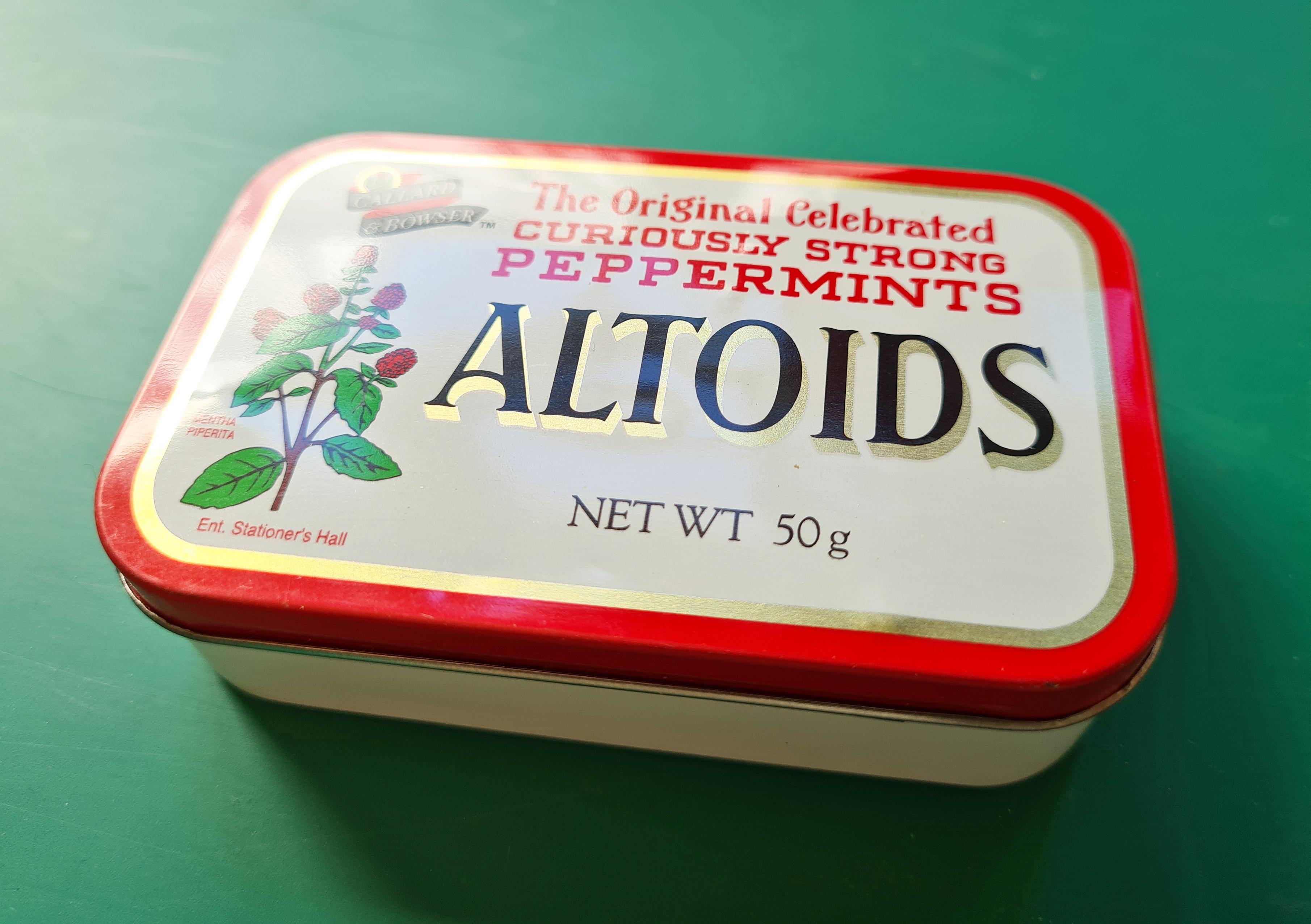 Re-purposed mints tin