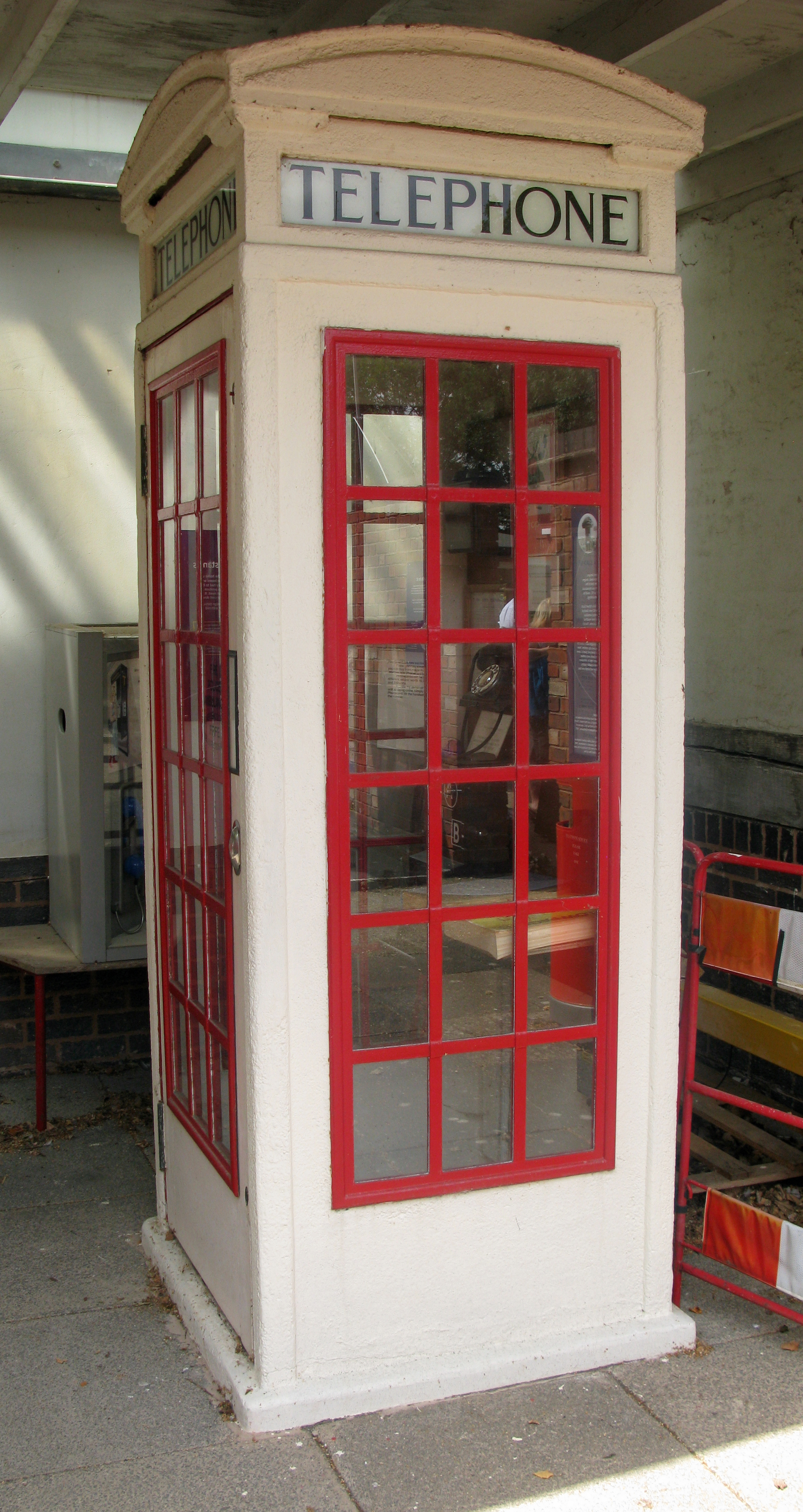 K3. Part of the National Telephone Kiosk Collection, Avoncroft
