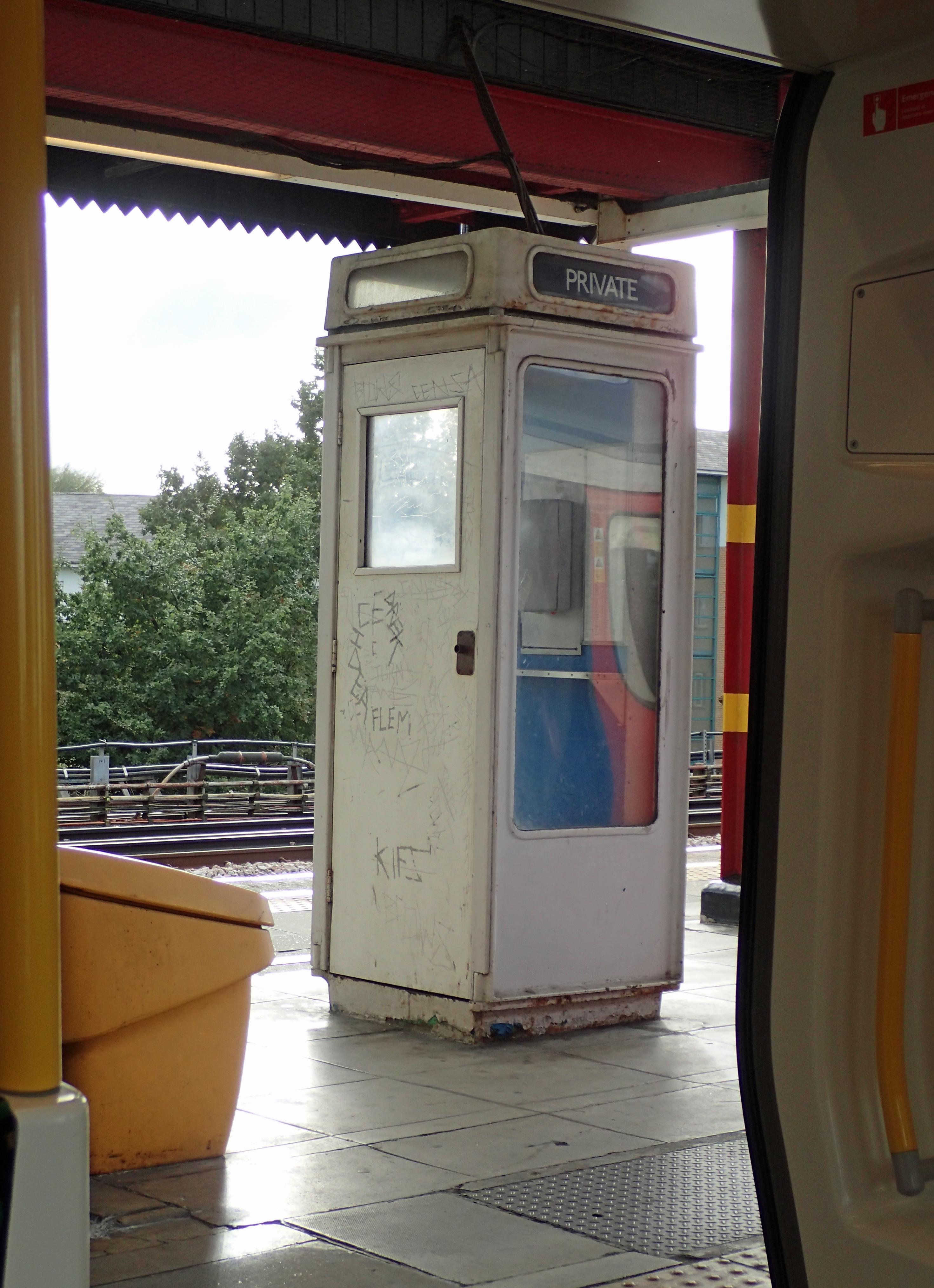 K8 seen at Northwick Park, Metropolitan Line, en route to the London Countryway
