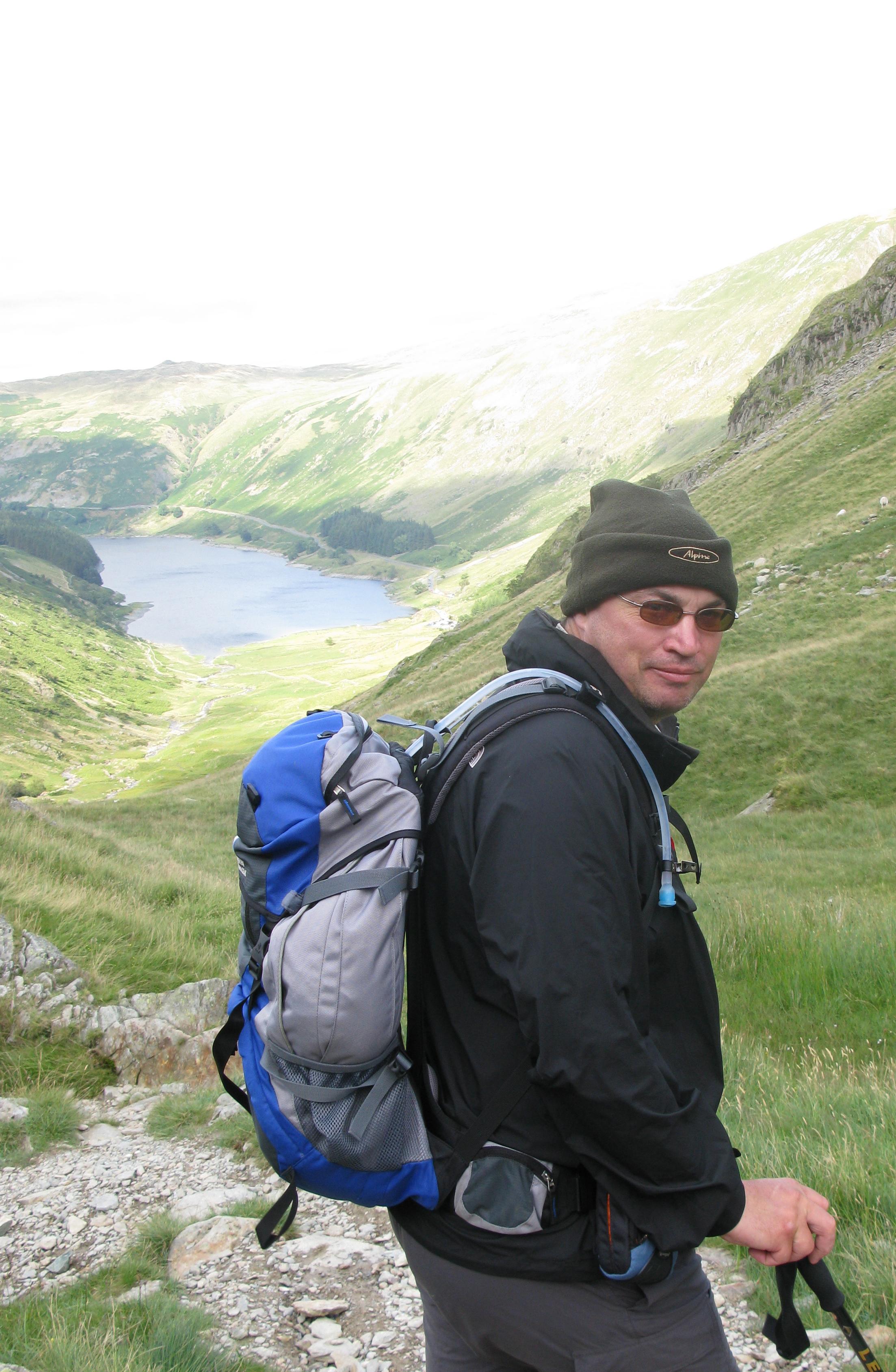 Fleece beanie, Lake District