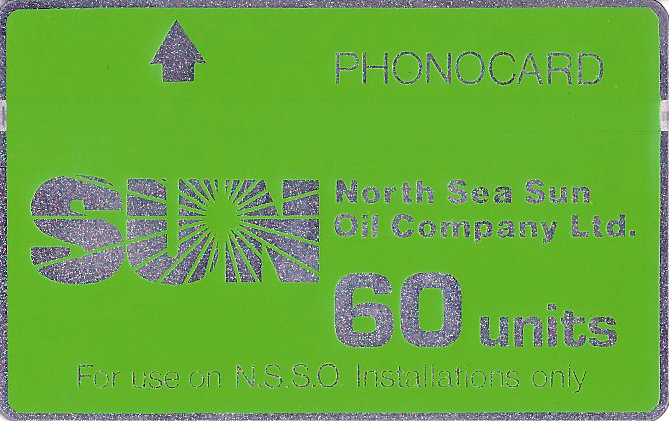 Closed user group Phonecard- for use on Oil rigs