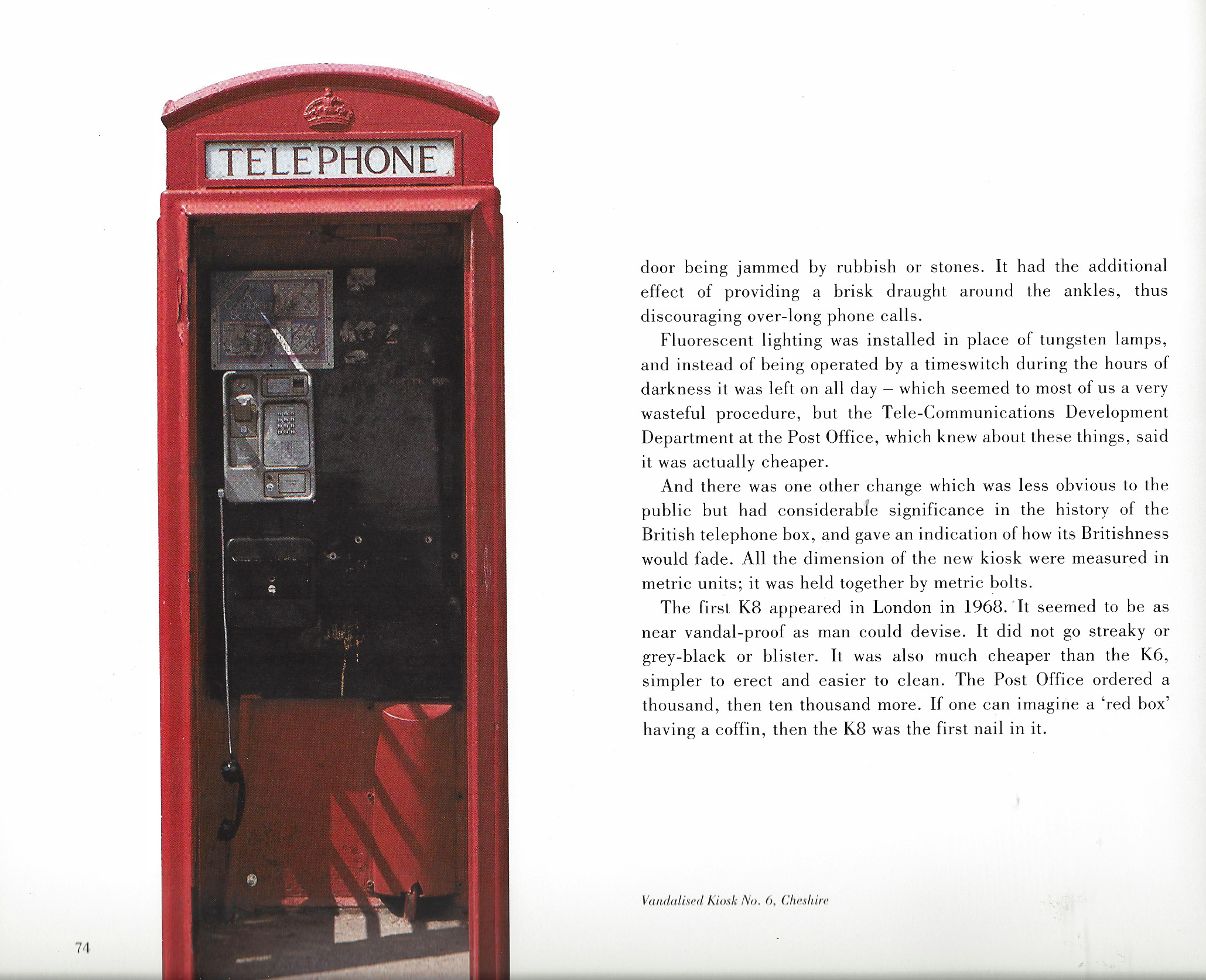 Requim for a Red Box, p74