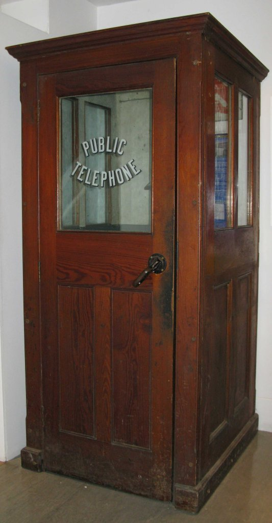 A typical GPO official Silence Cabinet for placing indoors or in a sheltered location