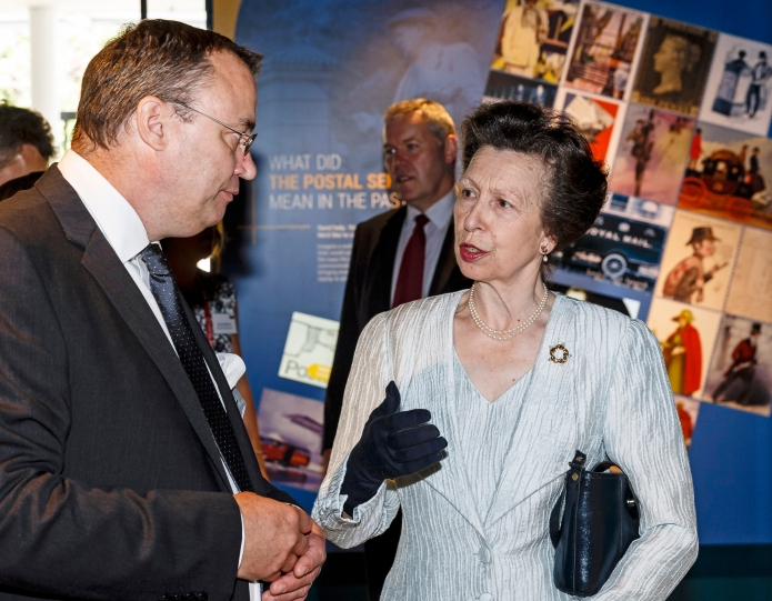 Three Points of the Compass with HRH The Princess Royal. An hour prior to this funtion, I lost a cufflink. Urban Altoids dug me out of a sartorial hole on that occasion