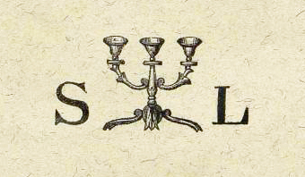 The first logo for the Societe