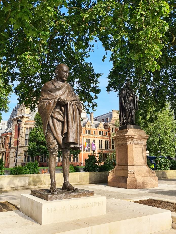 Mahatma Gandhi, Philip Jackson. Parliament Square