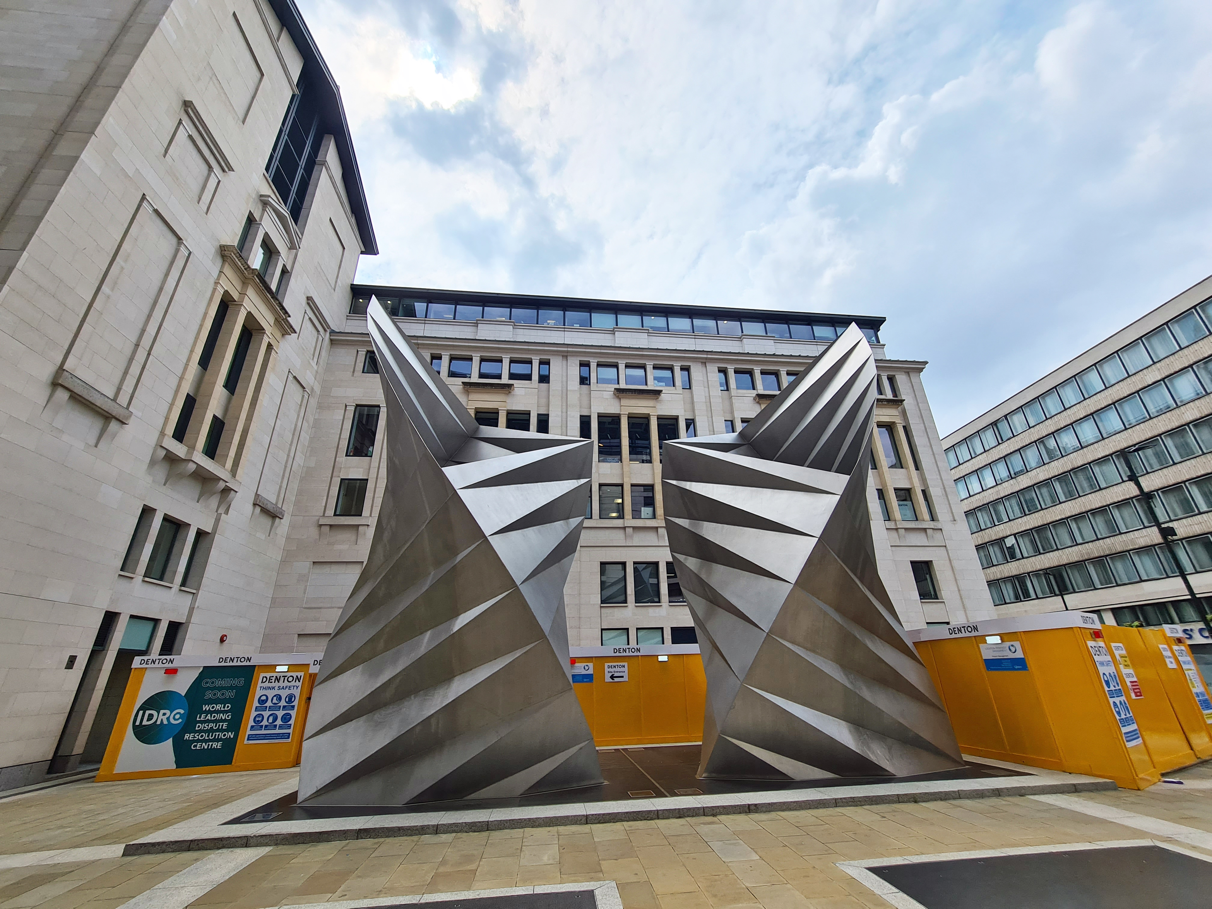 Angel's Wing, by Thomas Heatherwick. Paternoster Lane, off Square