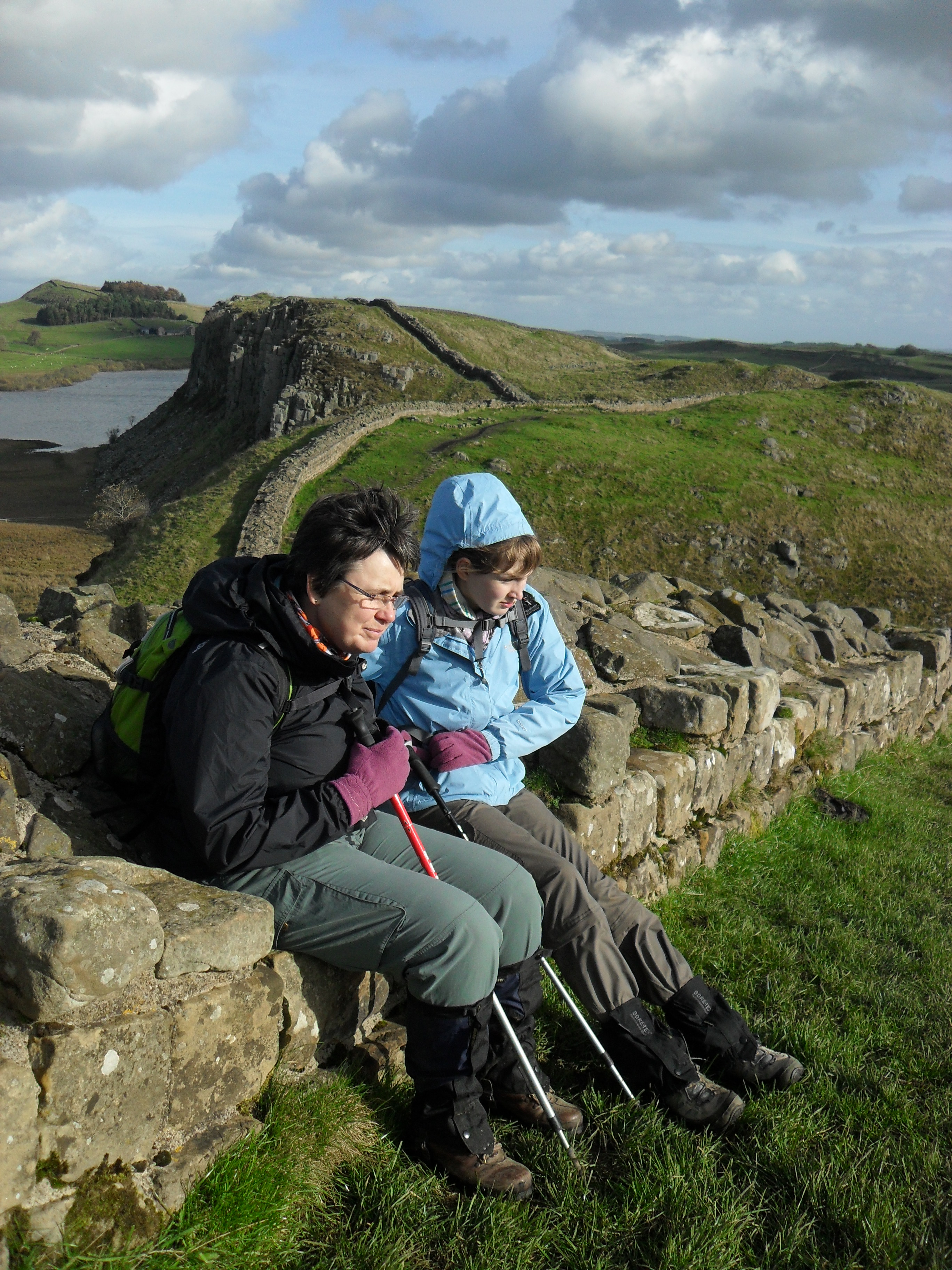 No visit to Northumberland can be complete without visiting the Roman Wall. We walked part of it in 2010 and we all said that one day we would return to explore further
