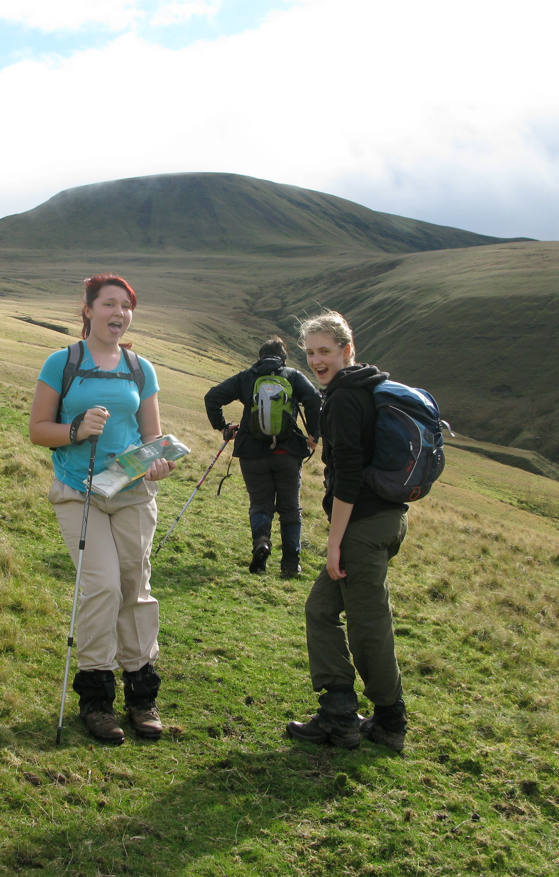 A Brecon Beacons walking holiday with schoolfriend joing us