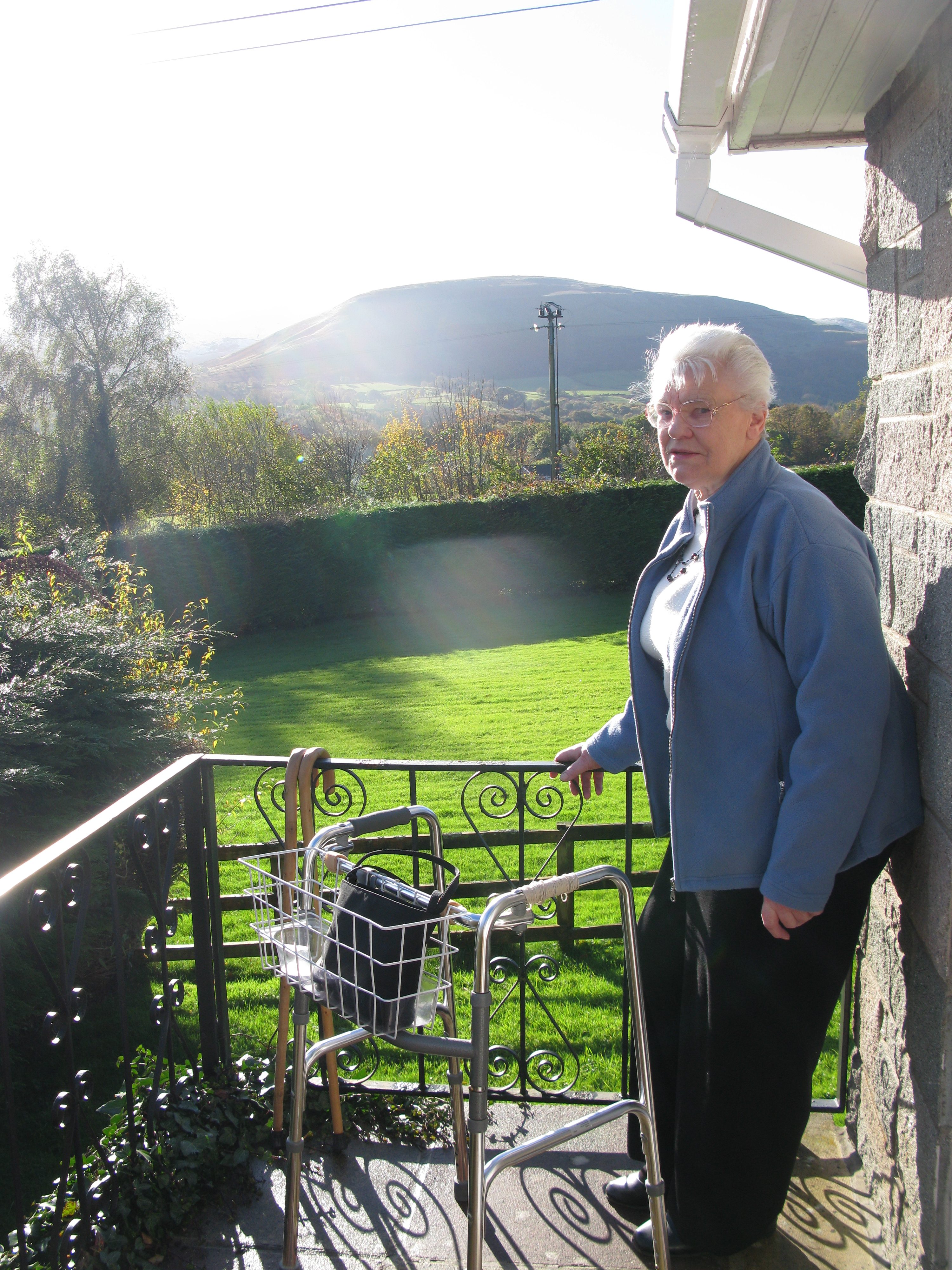 As my mother grew less able to move about, we were still able to get her to the most beautiful parts of the UK so that she could at least see the hills, deer and her beloved pheasants from the windows and garden of our cottages