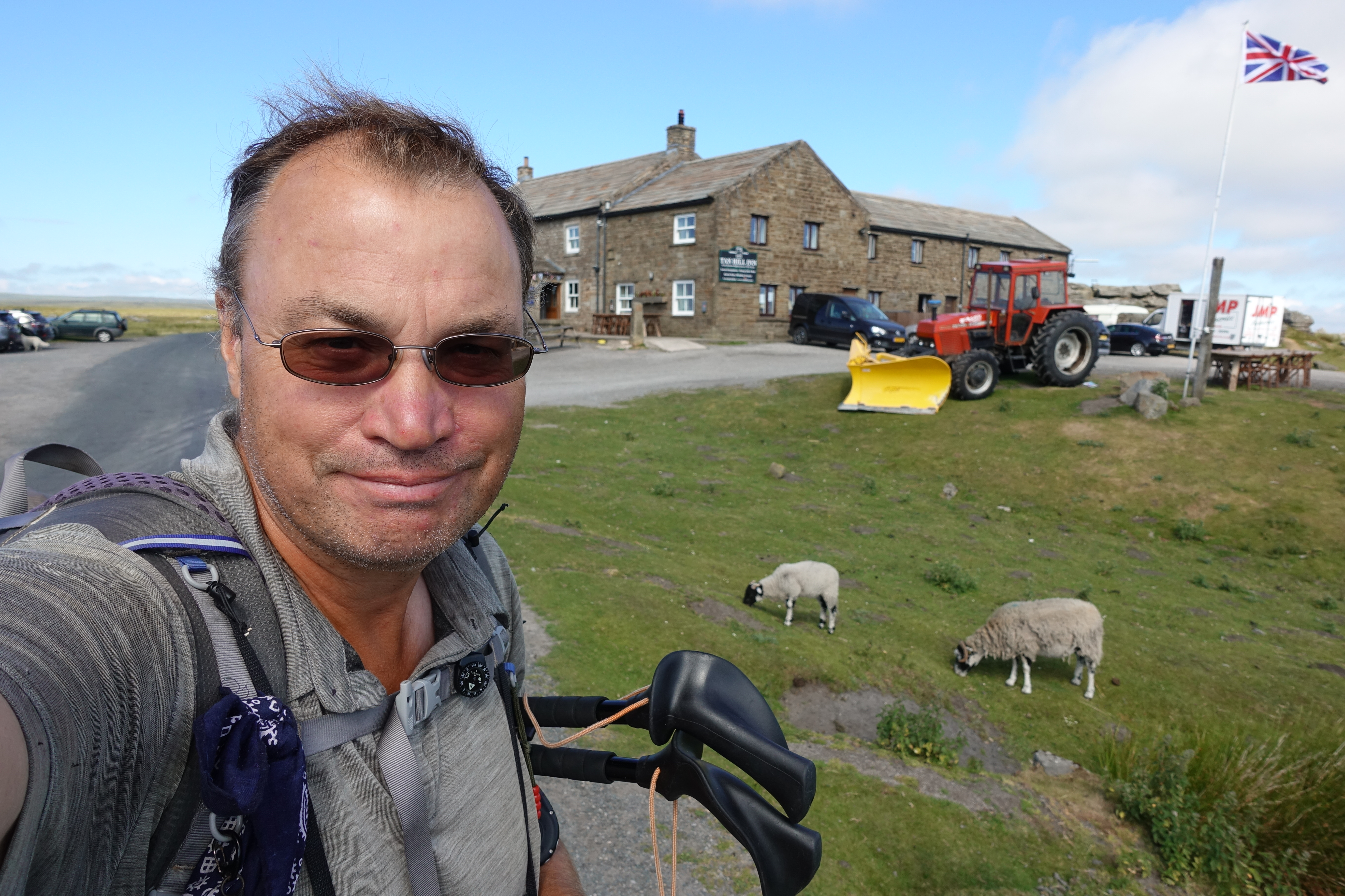 Beer and walking go hand in hand. England's highest pub, the Tan Hill Inn, lays in the Yorkshire Dales on the Pennine Way. An essential overnight halt