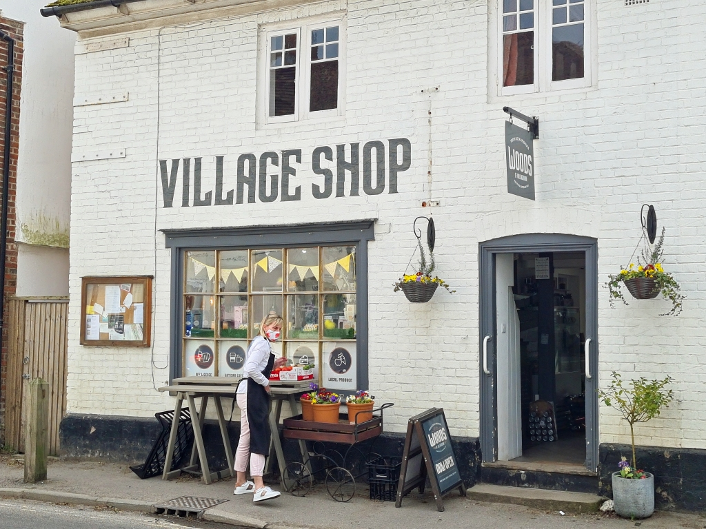 Village shop at Eythorne Street