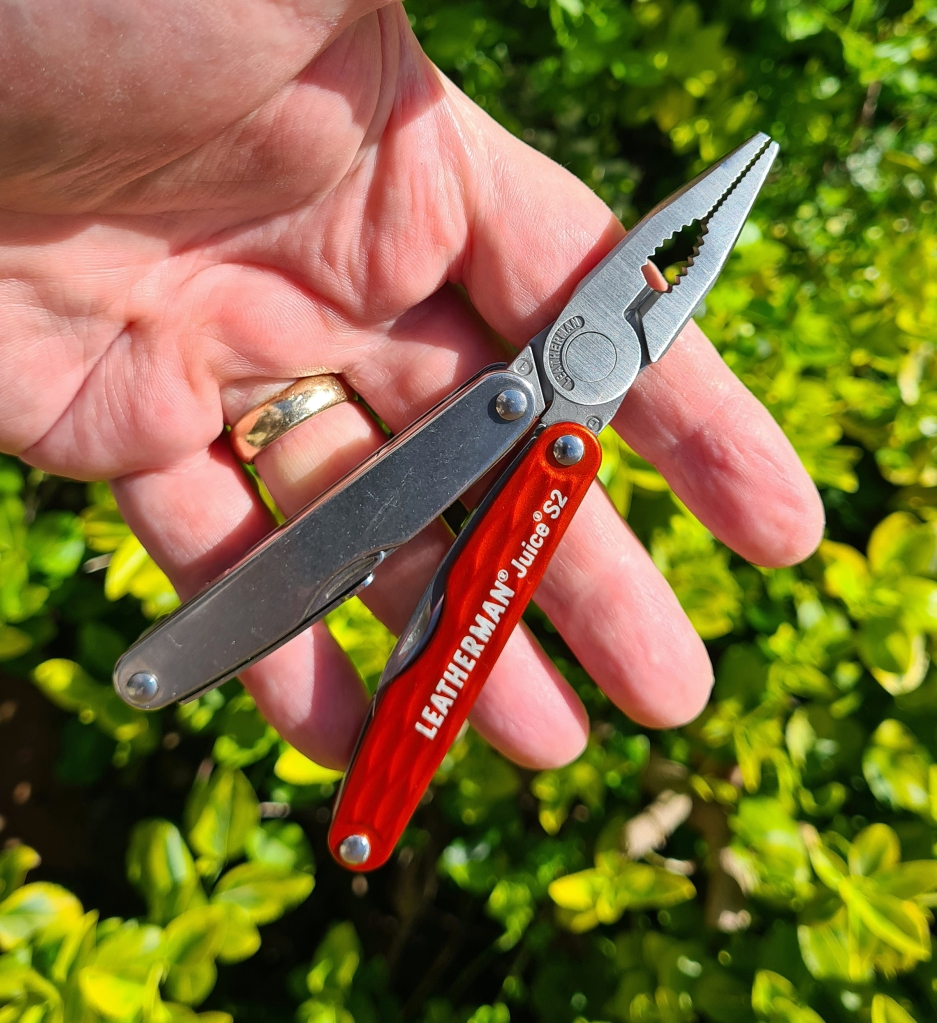 Pliers in the hand, this is a well proportioned small tool, but only for medium duty mind