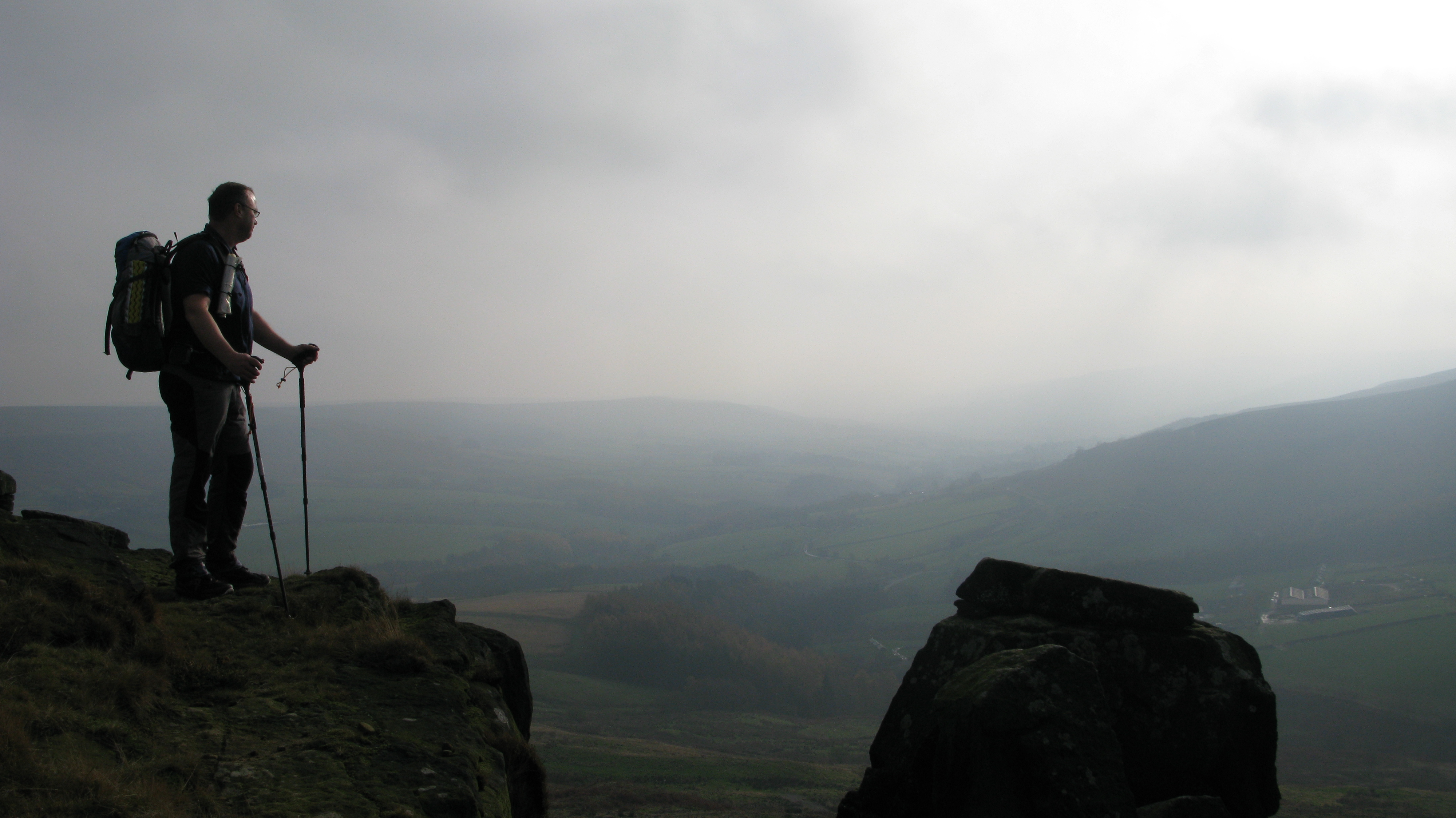 It was while visiting the sandstone crags of the Wainstones, in the North York Moors with my family in 2014 that I determioned to return to this area and walk the Clevelend Way some day. I wrote about that walk here