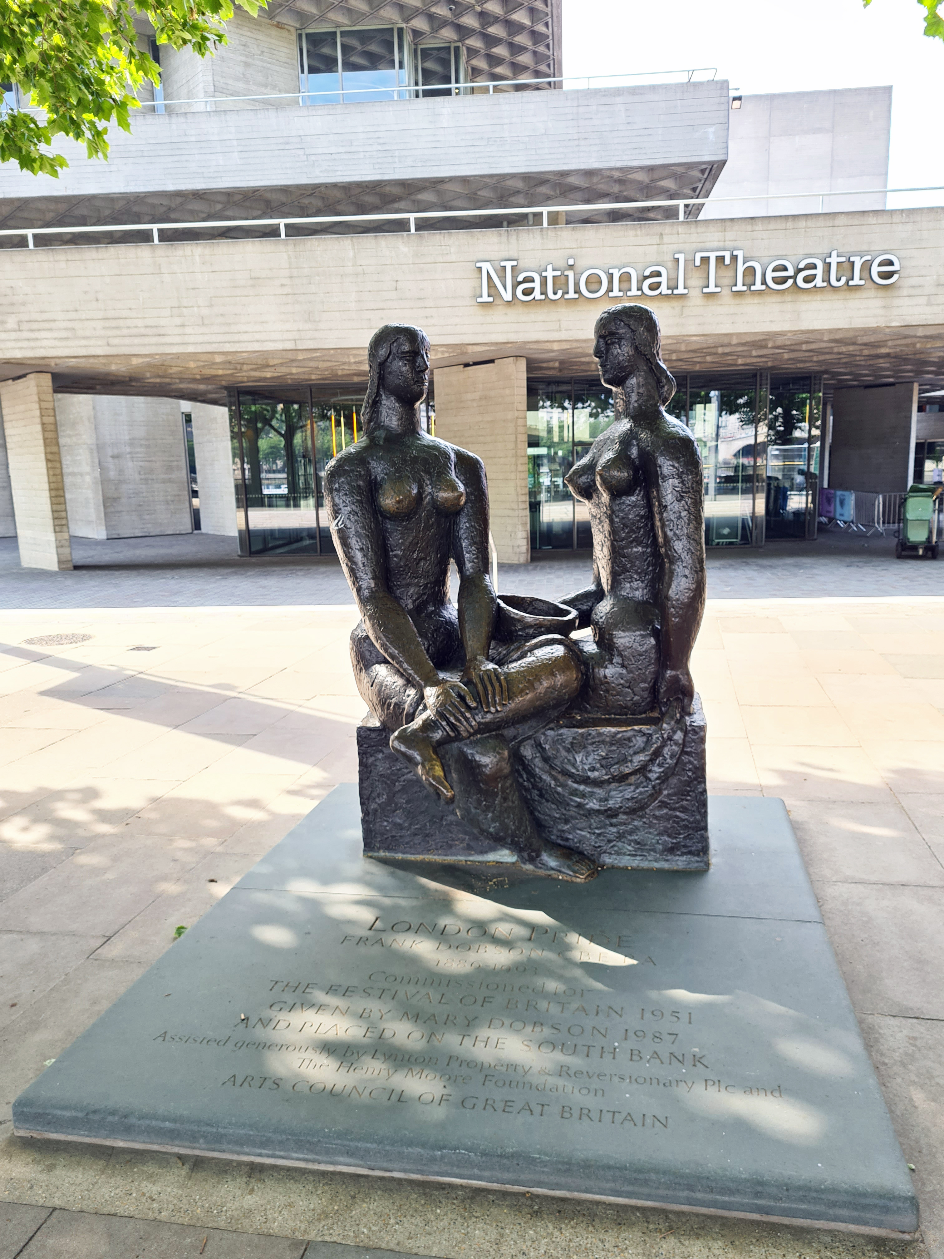 London Pride, Frank Dobson. National Theatre, South Bank