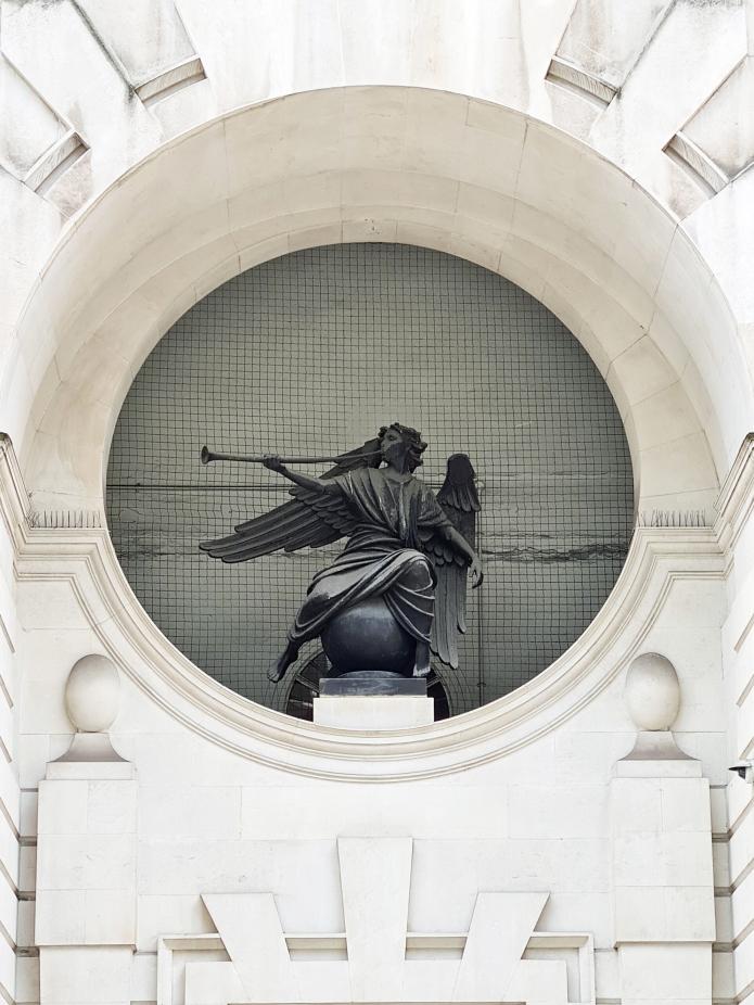 The Herald, by William Reid Dick. 85 Fleet Street