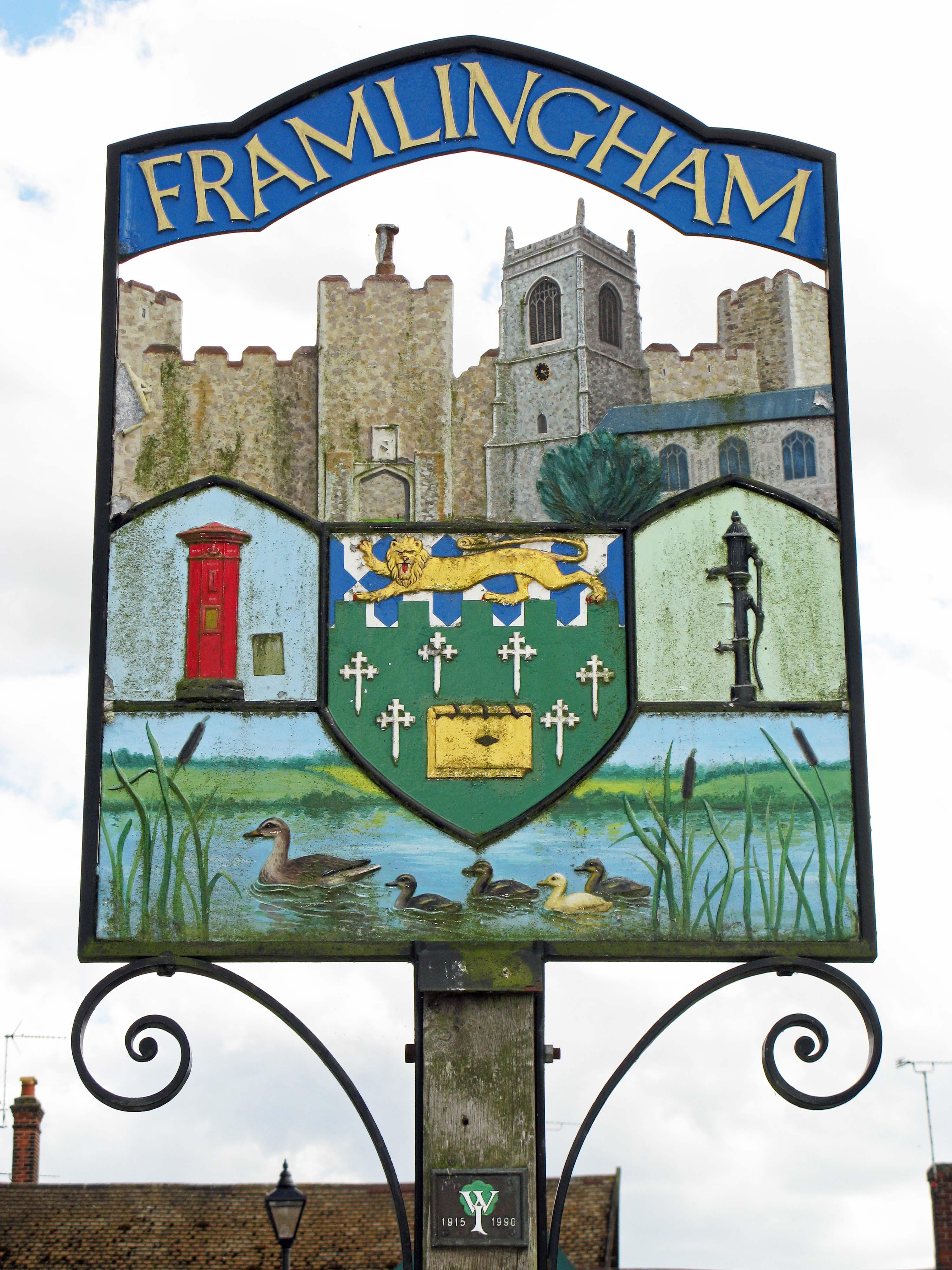 Framlingham village sign