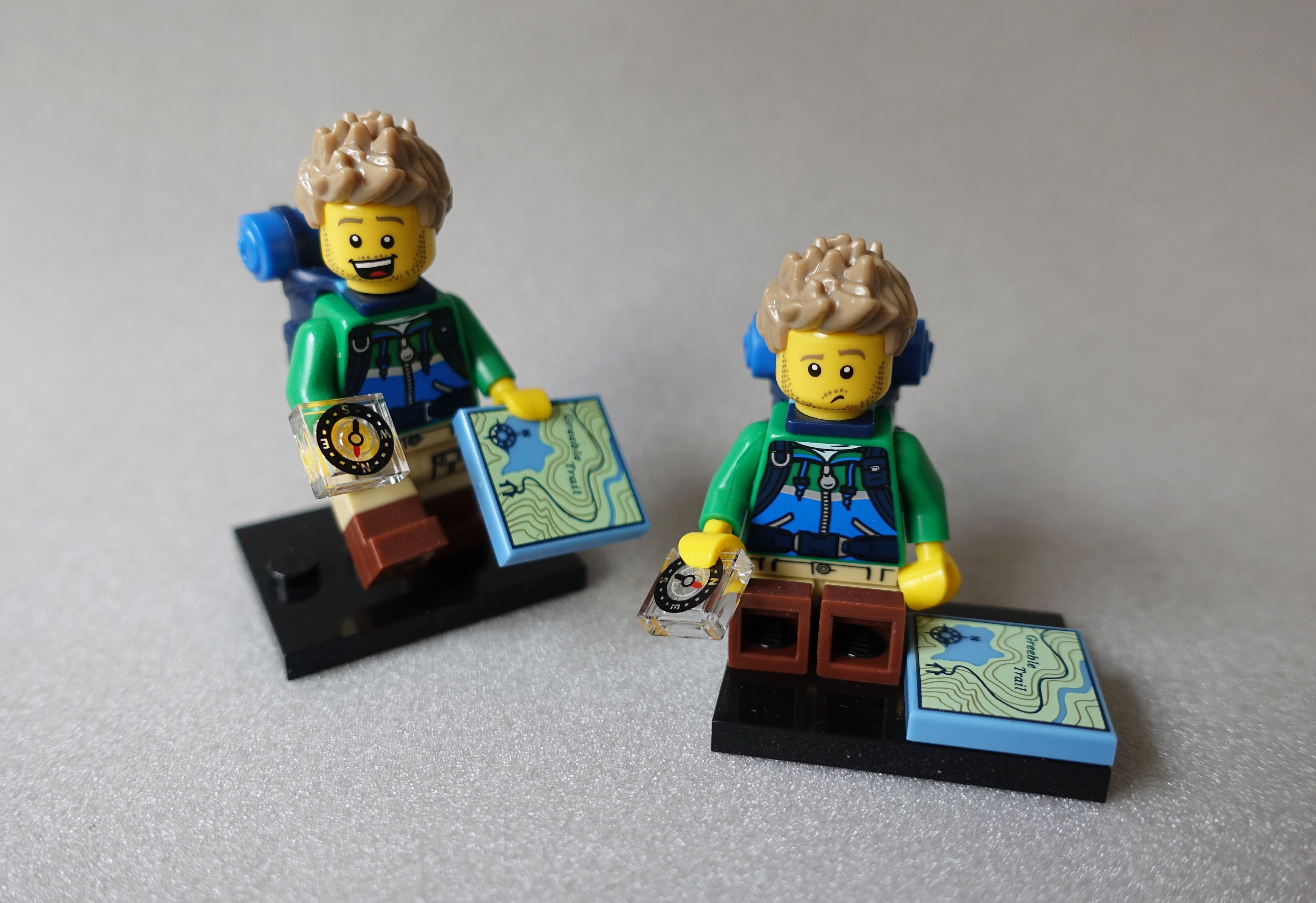 Lego Hiker- Number six in series sixteen of the Lego minifigures