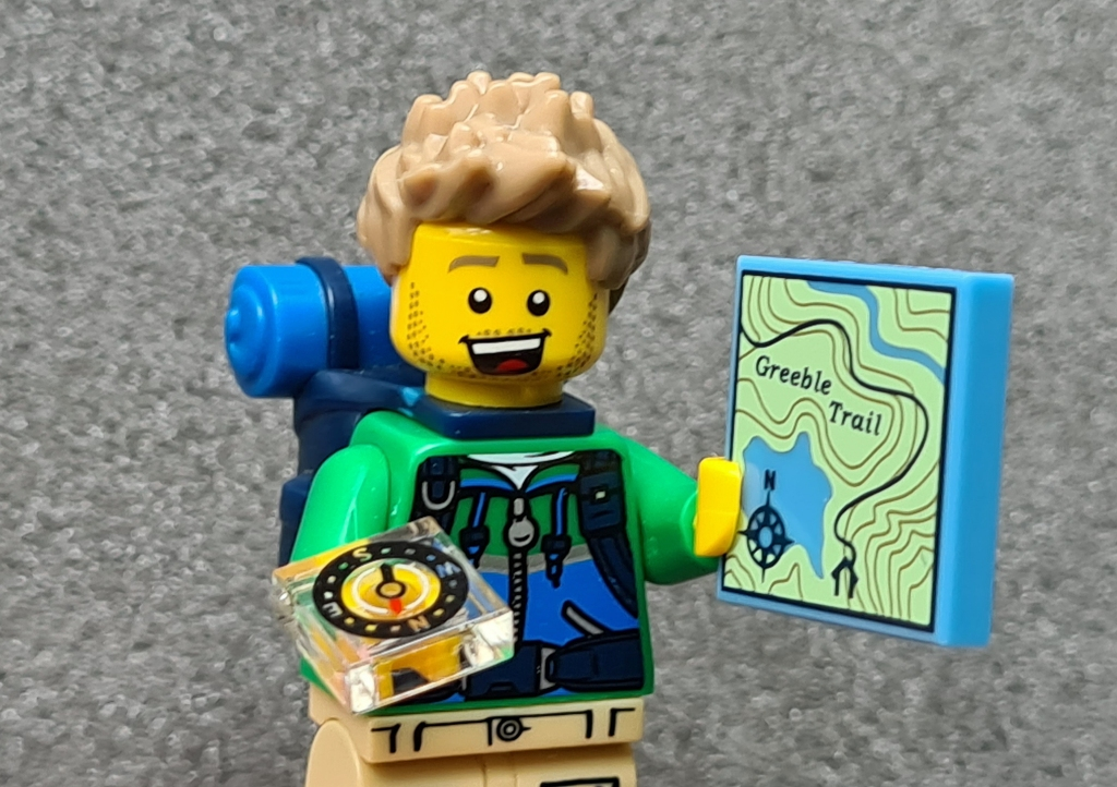 Lego Hiker