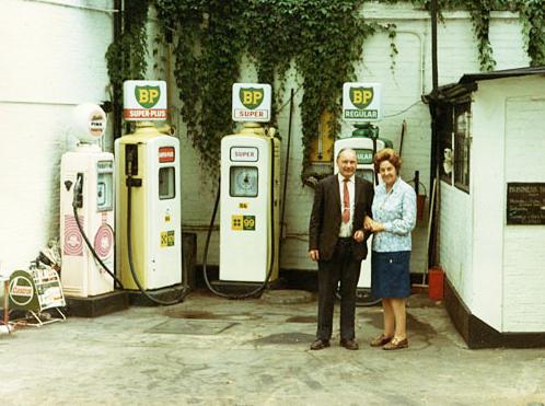 Bells Garage, Kensington, London, 1970s