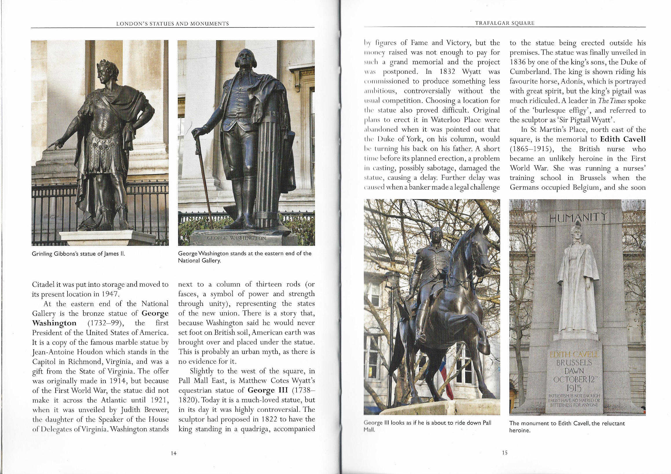 London's Statues and Monuments, inside