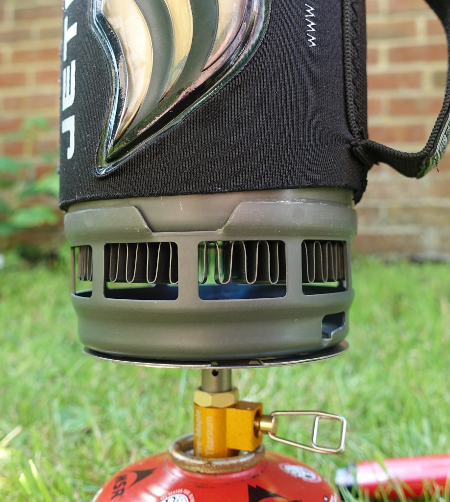 With Jetboil Flash HX pot