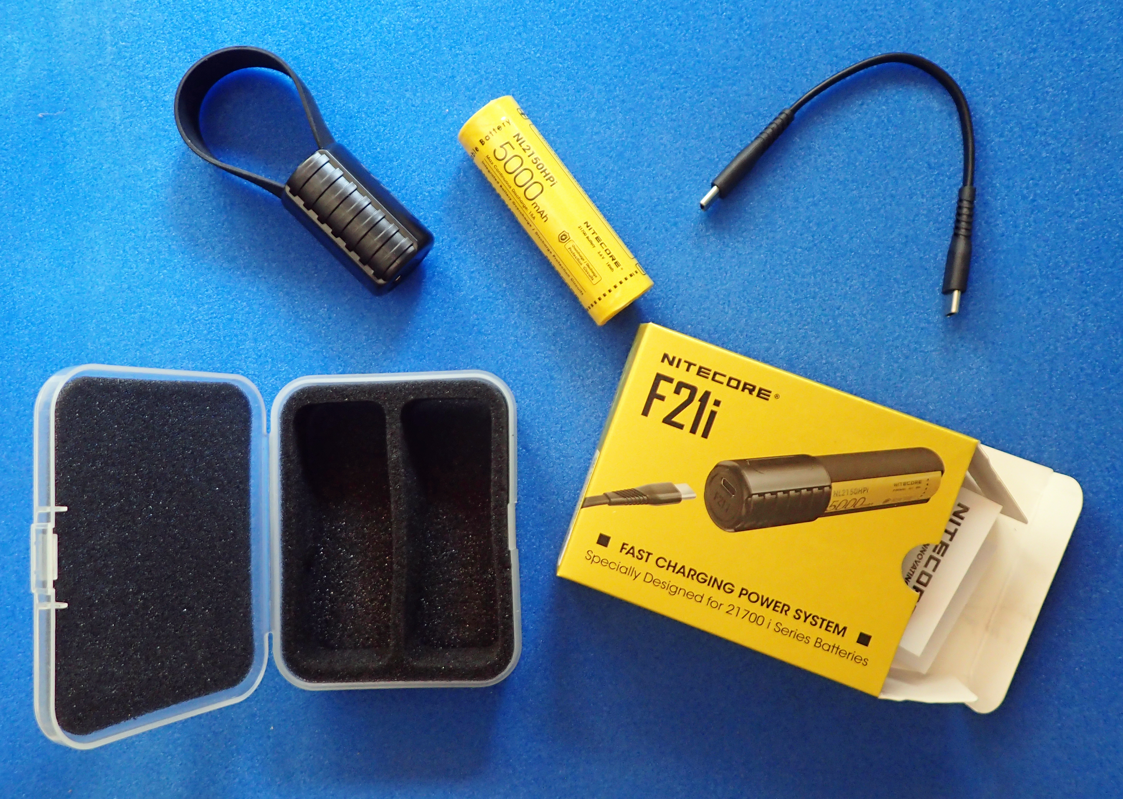 Nitecore F21i comes as a discreet kit and makes a handy addition to the pack on day hikes, and for the frugal energy consumer, multi day hikes too