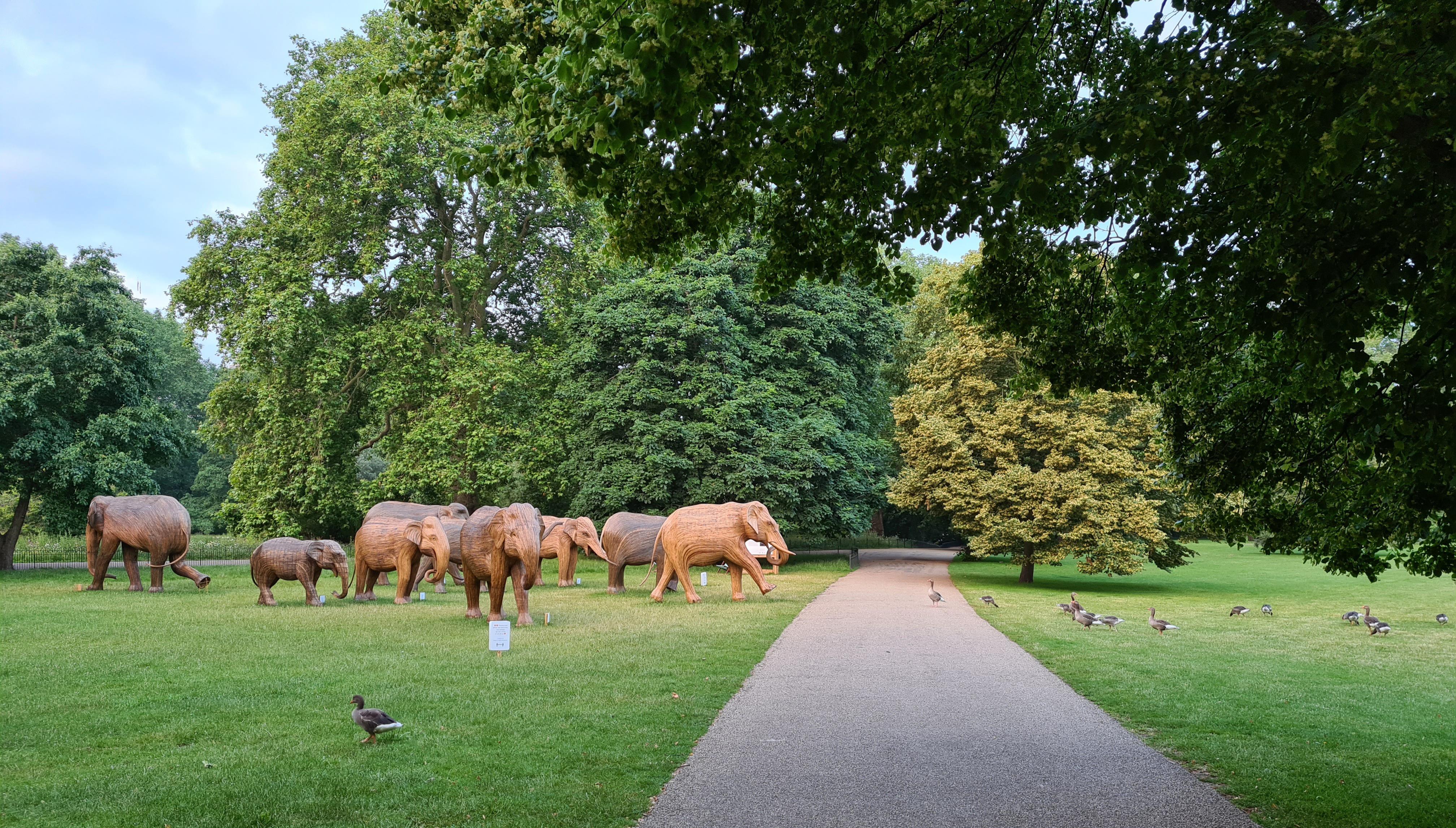 Elephants on the Jubilee Walkway