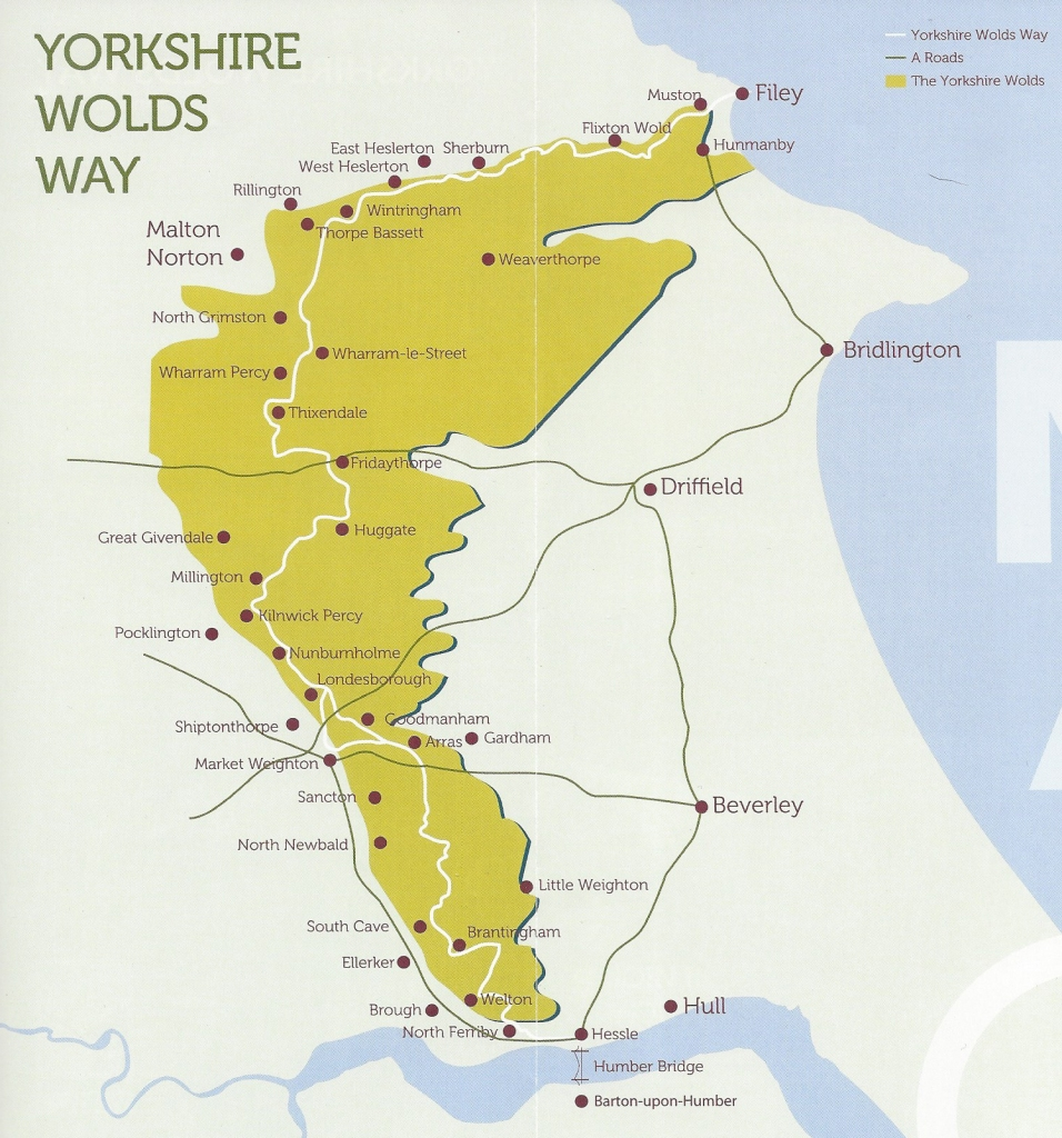 The 79 mile long Yorkshire Wolds Way is the shortest of England's National Trails