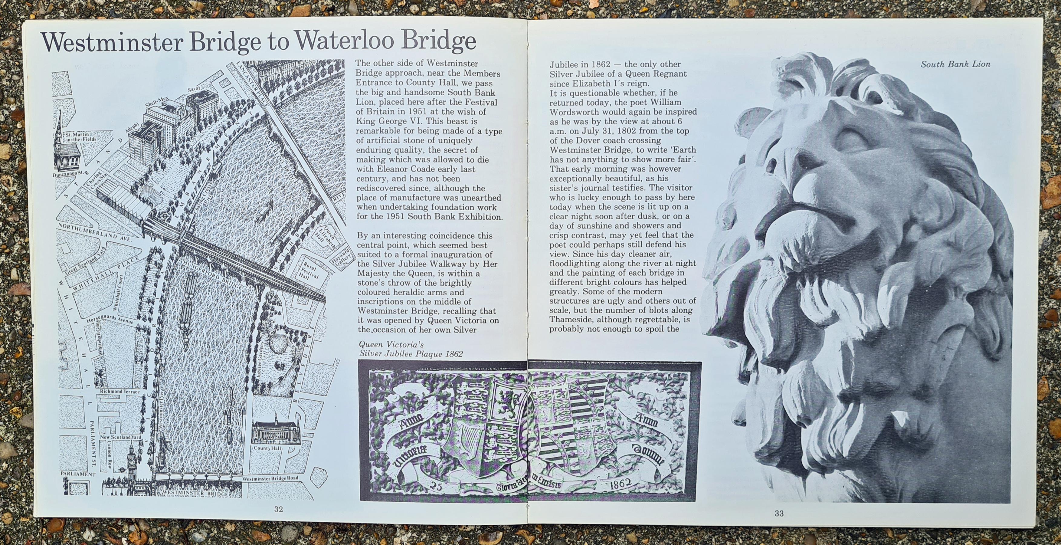 The Silver Jubilee Walkway guide, inside