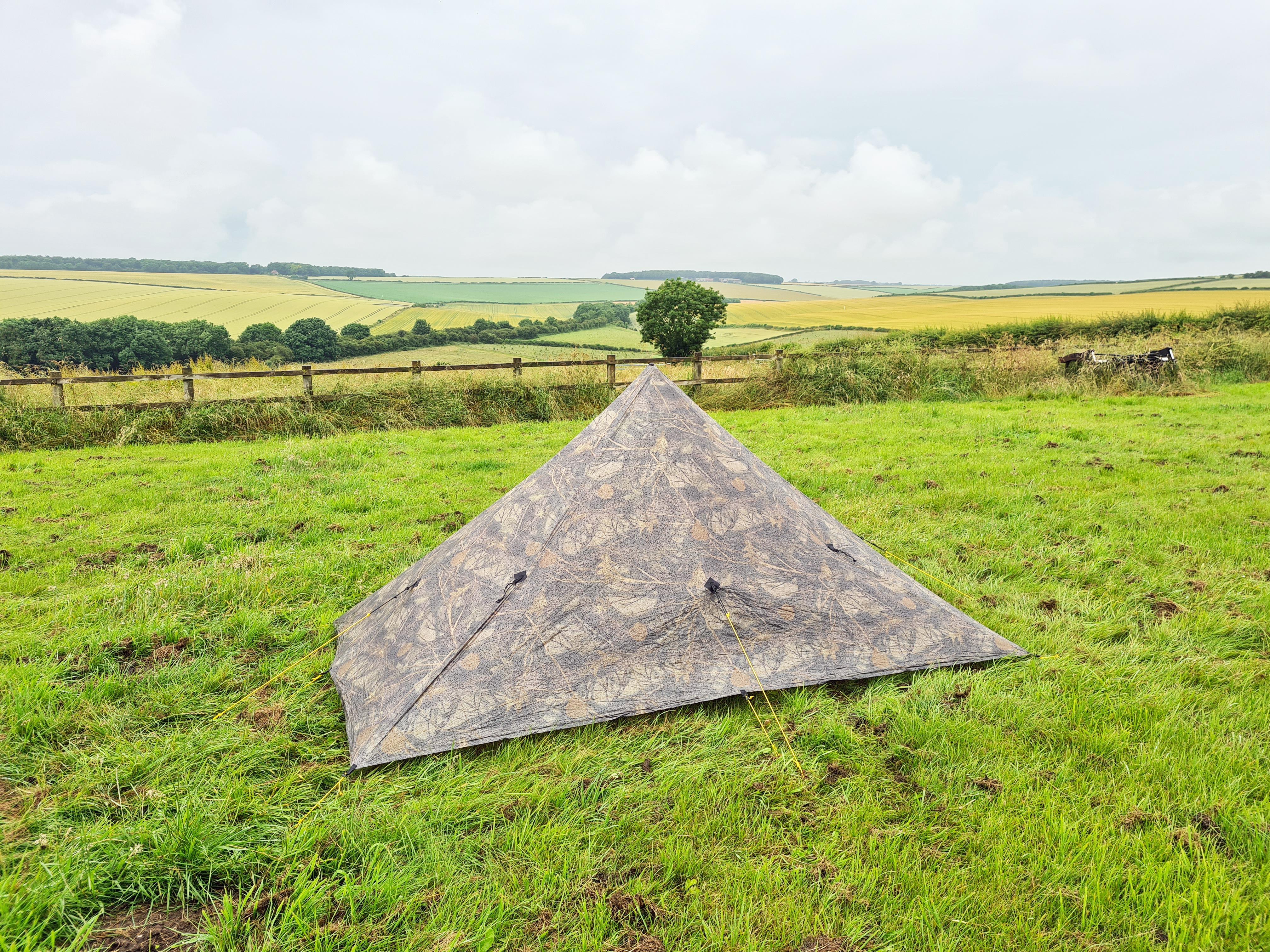 Second night's camp-, Manor Farm, Goodmanham