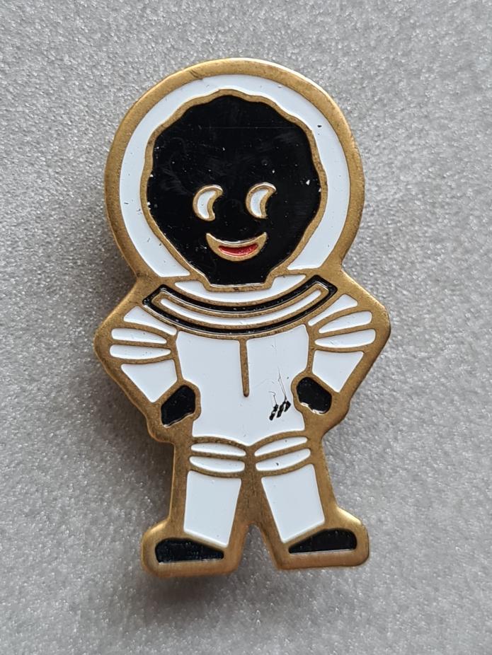 astronaut acrylic 1990
