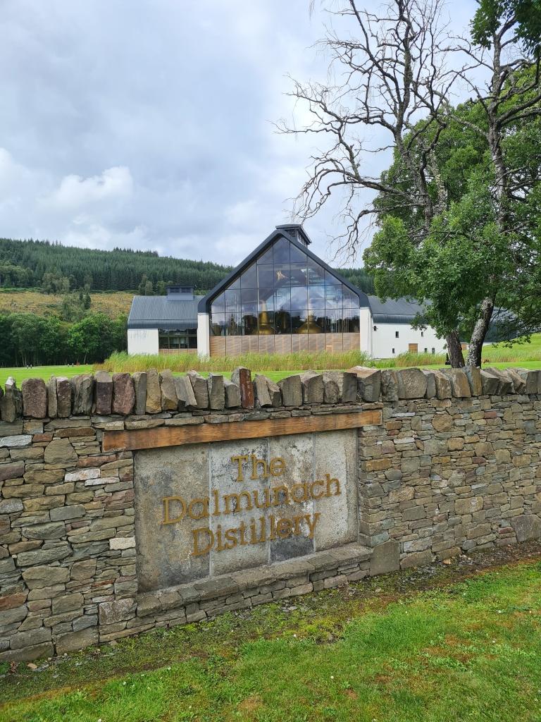 Dalmunach whisky distillery- no visitors