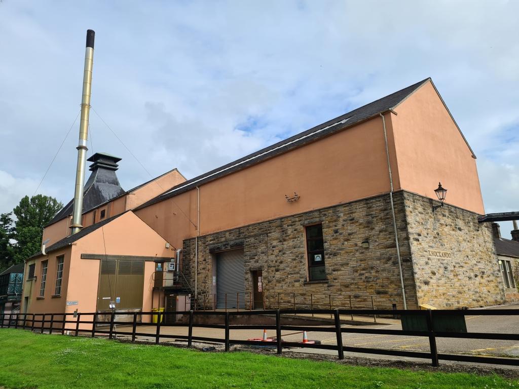 Knockando whisky distillery- no visitors