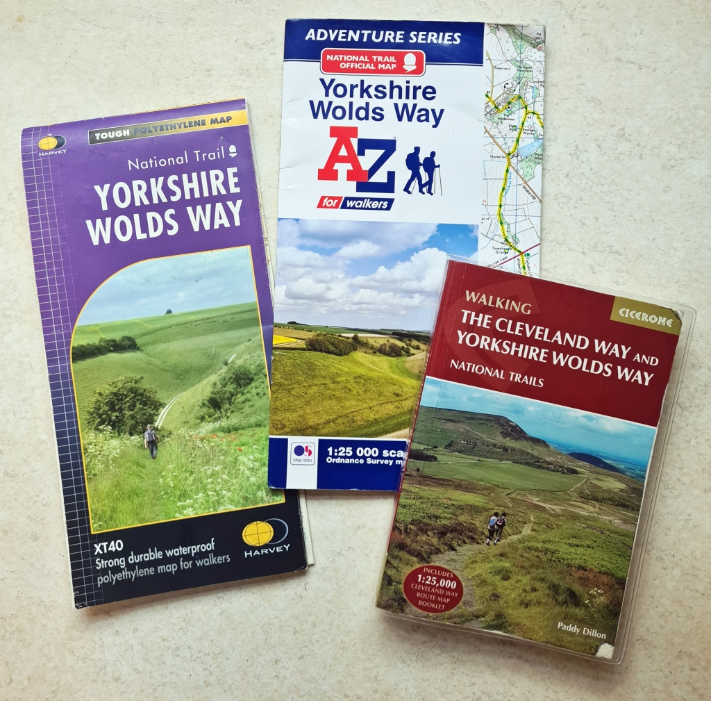 Harvey map, O.S. Adventure Map and Guide book from Cicerone