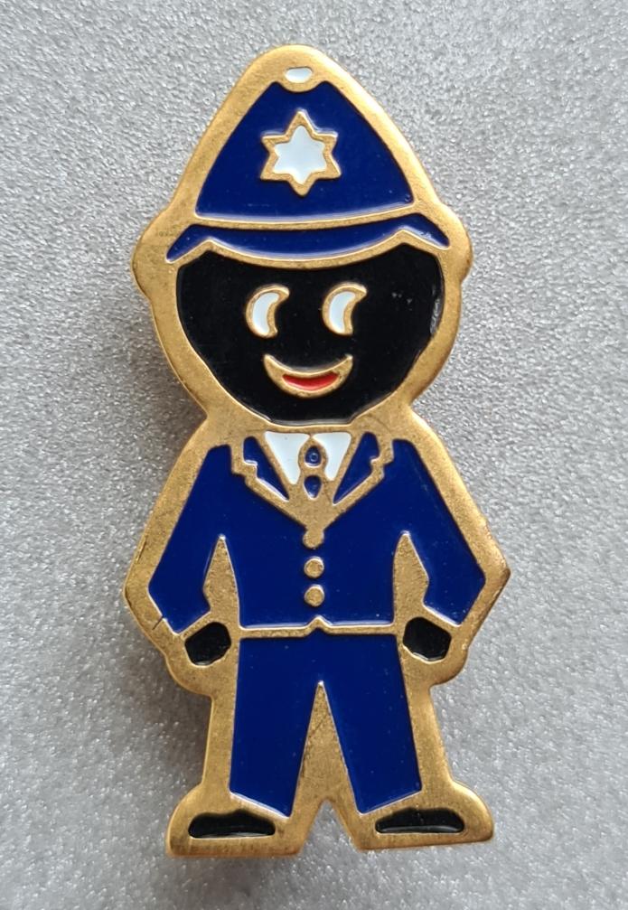 policeman acrylic 1990