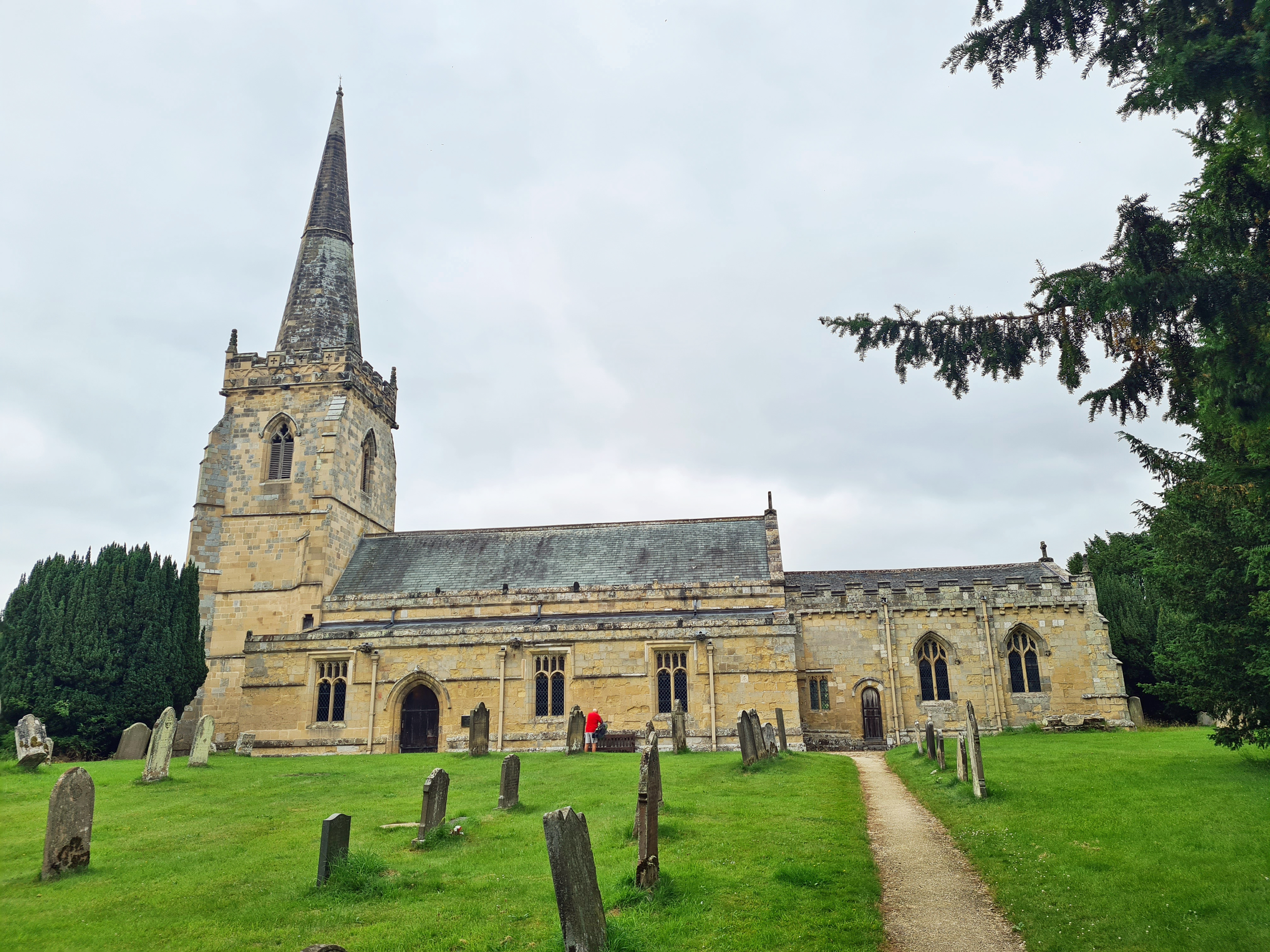Grade I listed St. Peters at Wintringham
