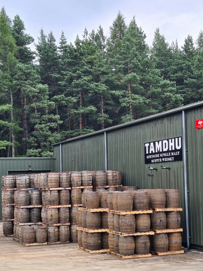 Tamdhu whisky distillery- no visitors
