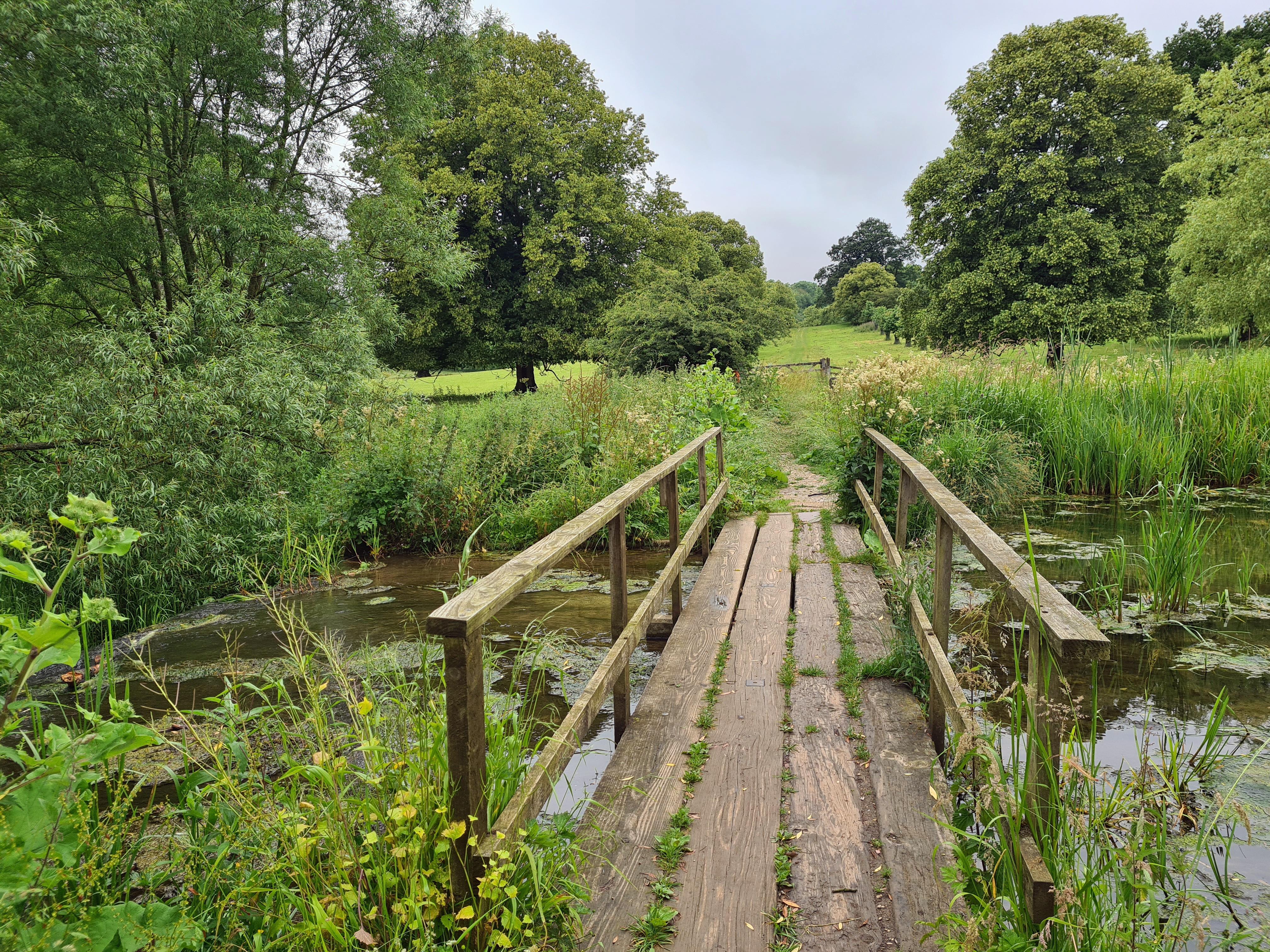 'The Lake' in Londesborough Park