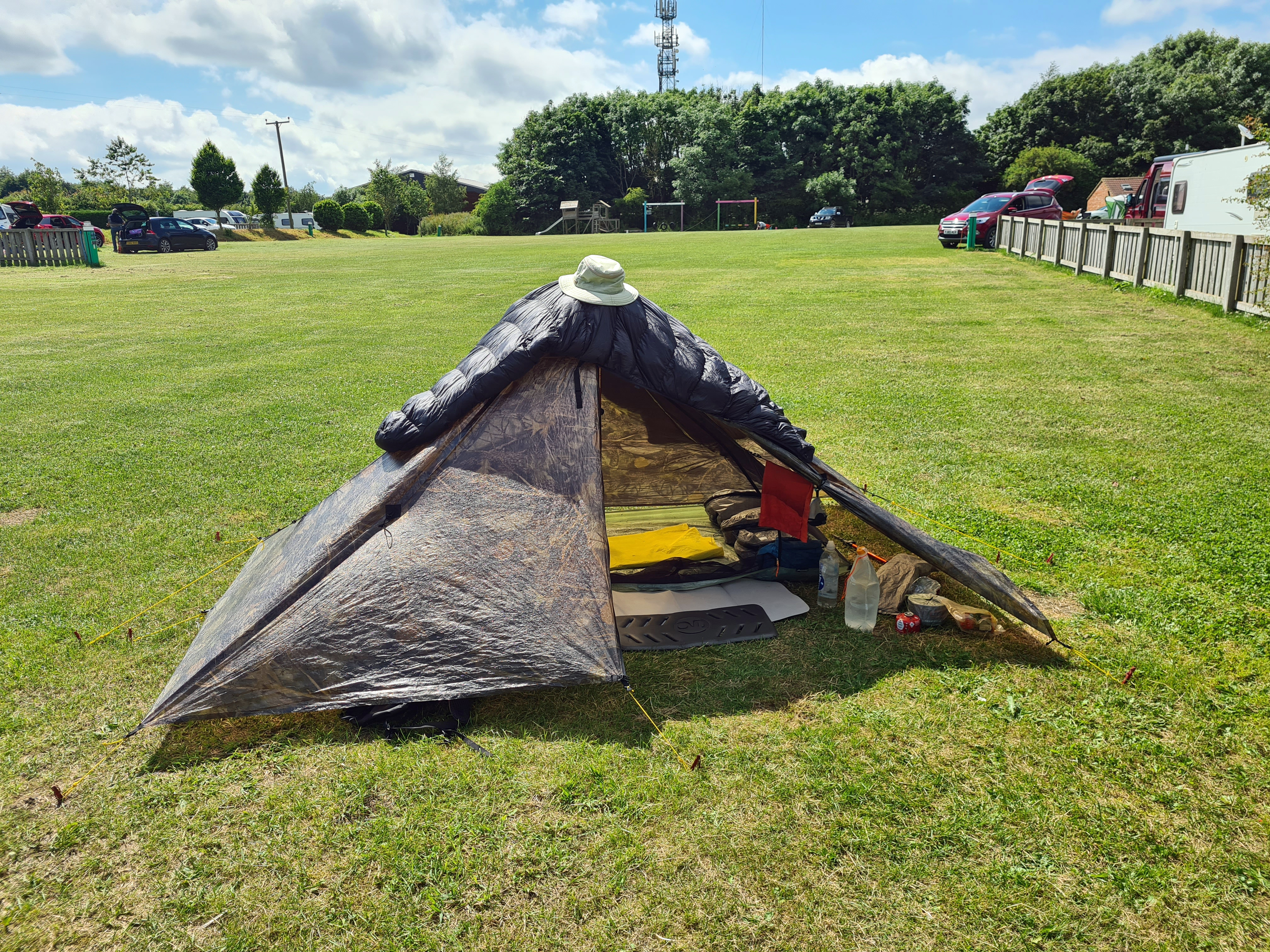 Wolds Way campsite