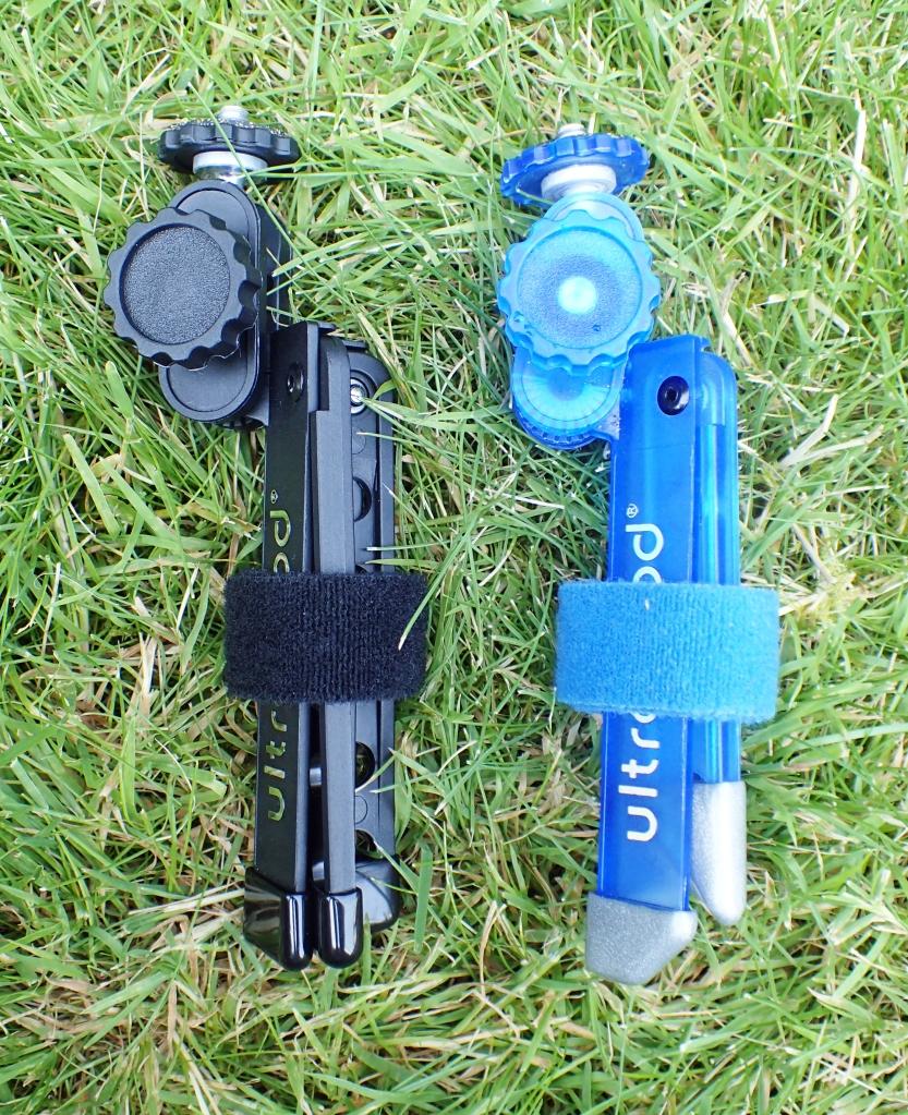 The two versions of the Ultrapod Mini