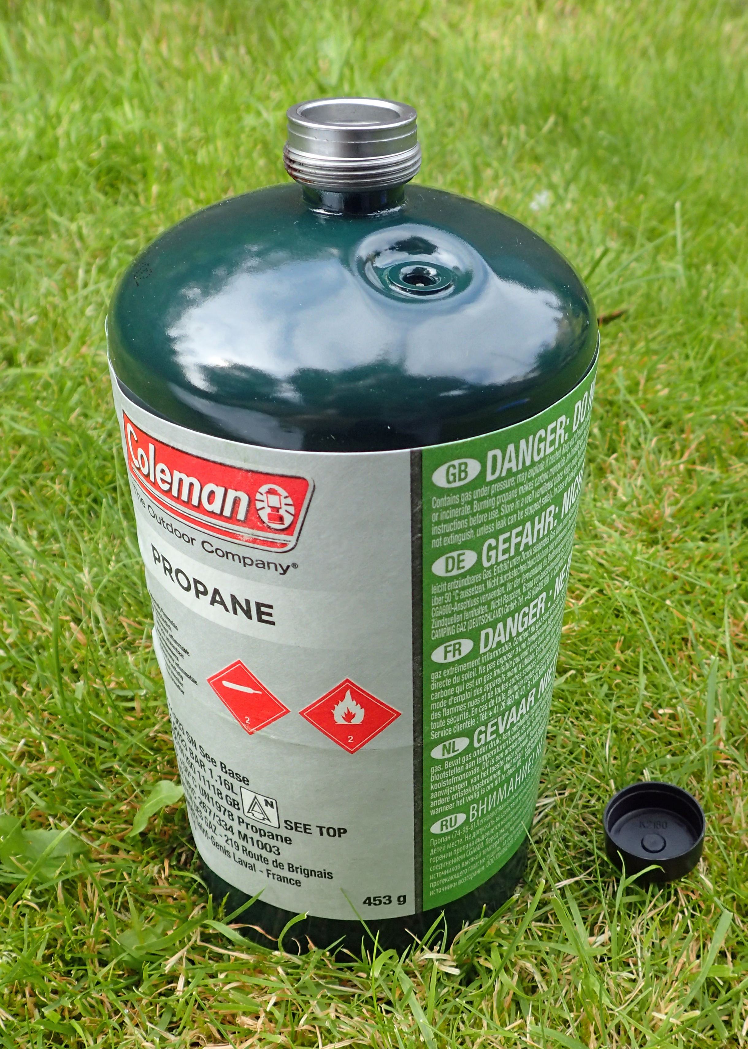450g Propane canister