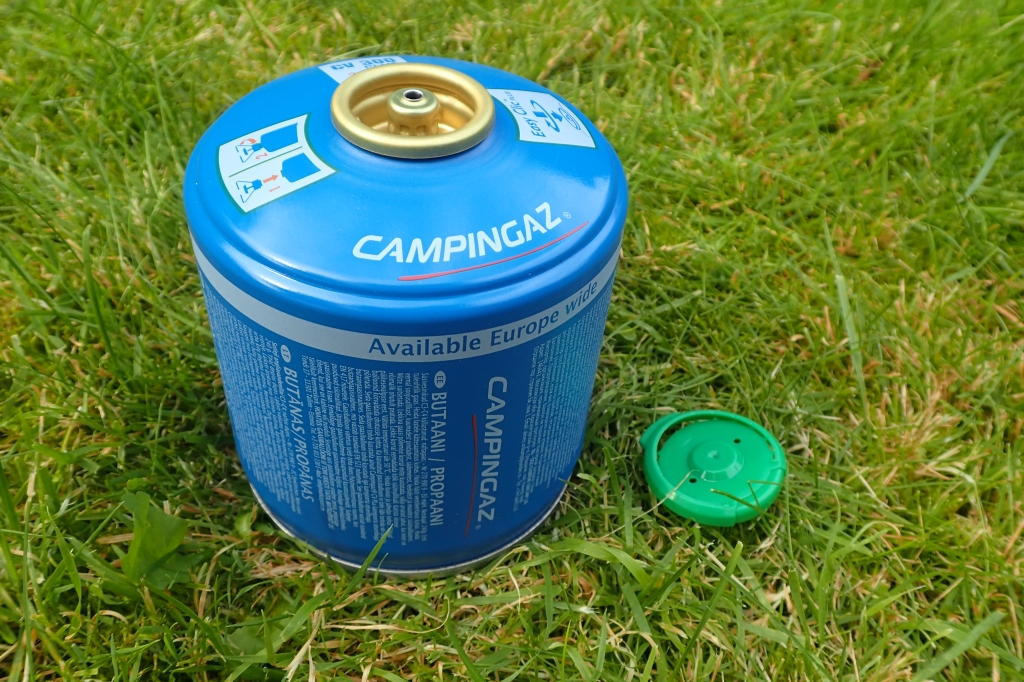 Campingaz CV300 with Easy Clic Plus connector, protective cap removed