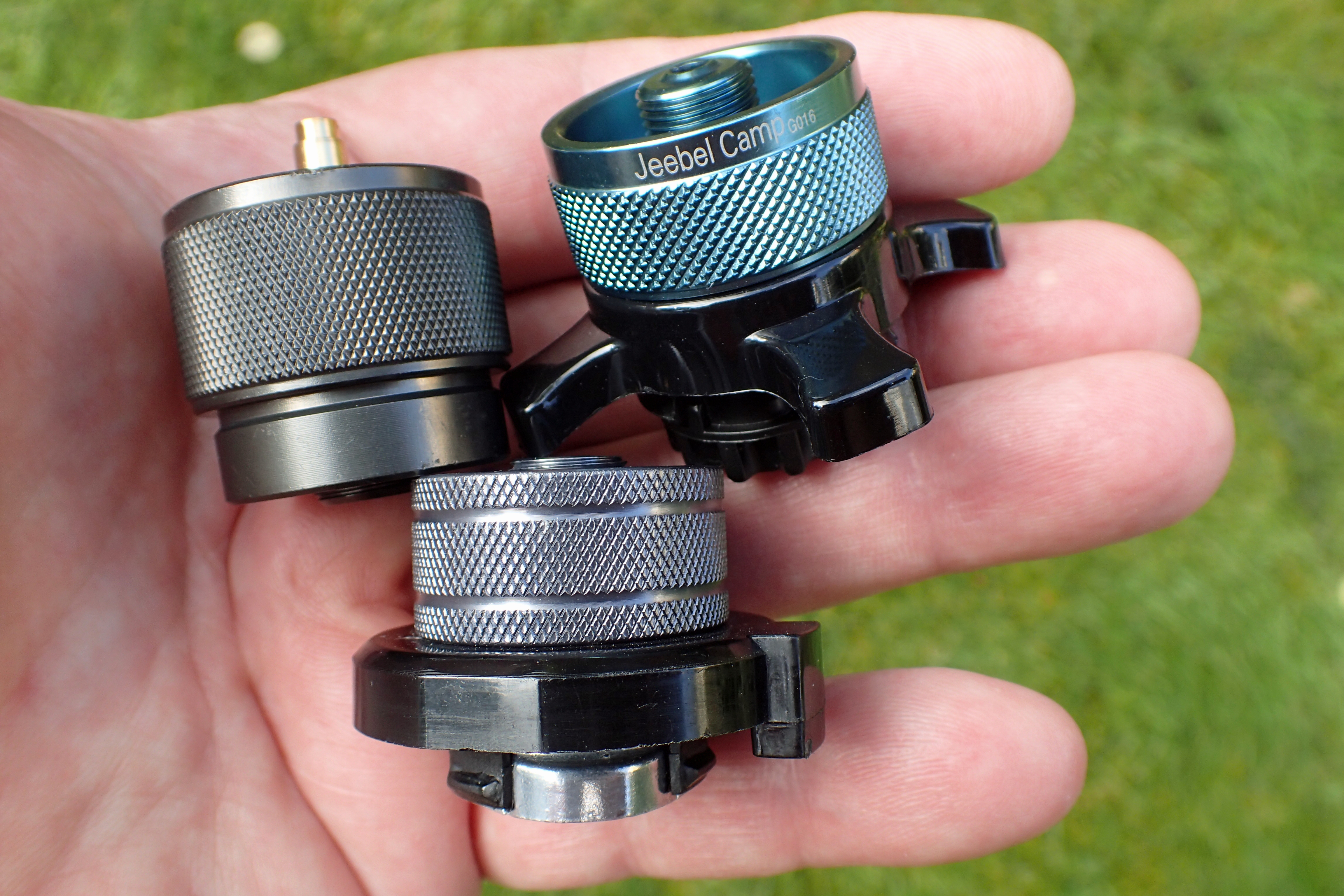 Three canister adapters widen possibilities